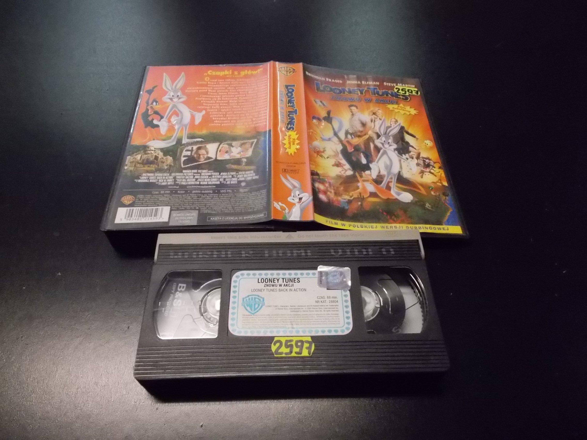 LOONEY TUNES ZNOWU W AKCJI -  kaseta VHS - 1154 Opole - AlleOpole.pl