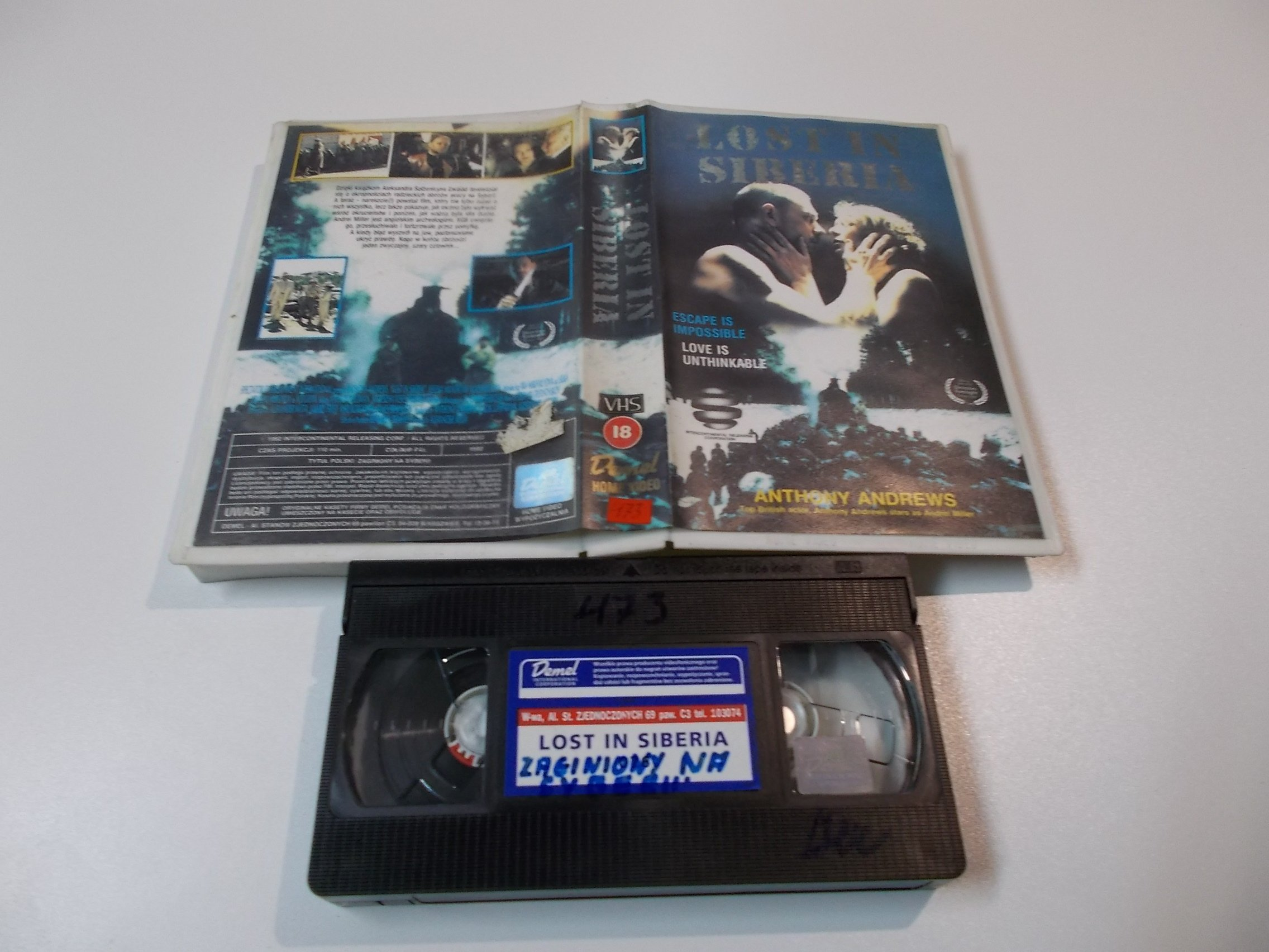 LOST IN SIBERIA - kaseta Video VHS - 1453 Sklep
