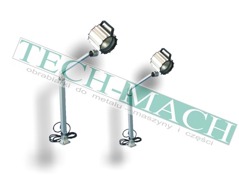 Lampa stanowiskowa, lampa maszynowa halogenowa do frezarki Tel. 627820301