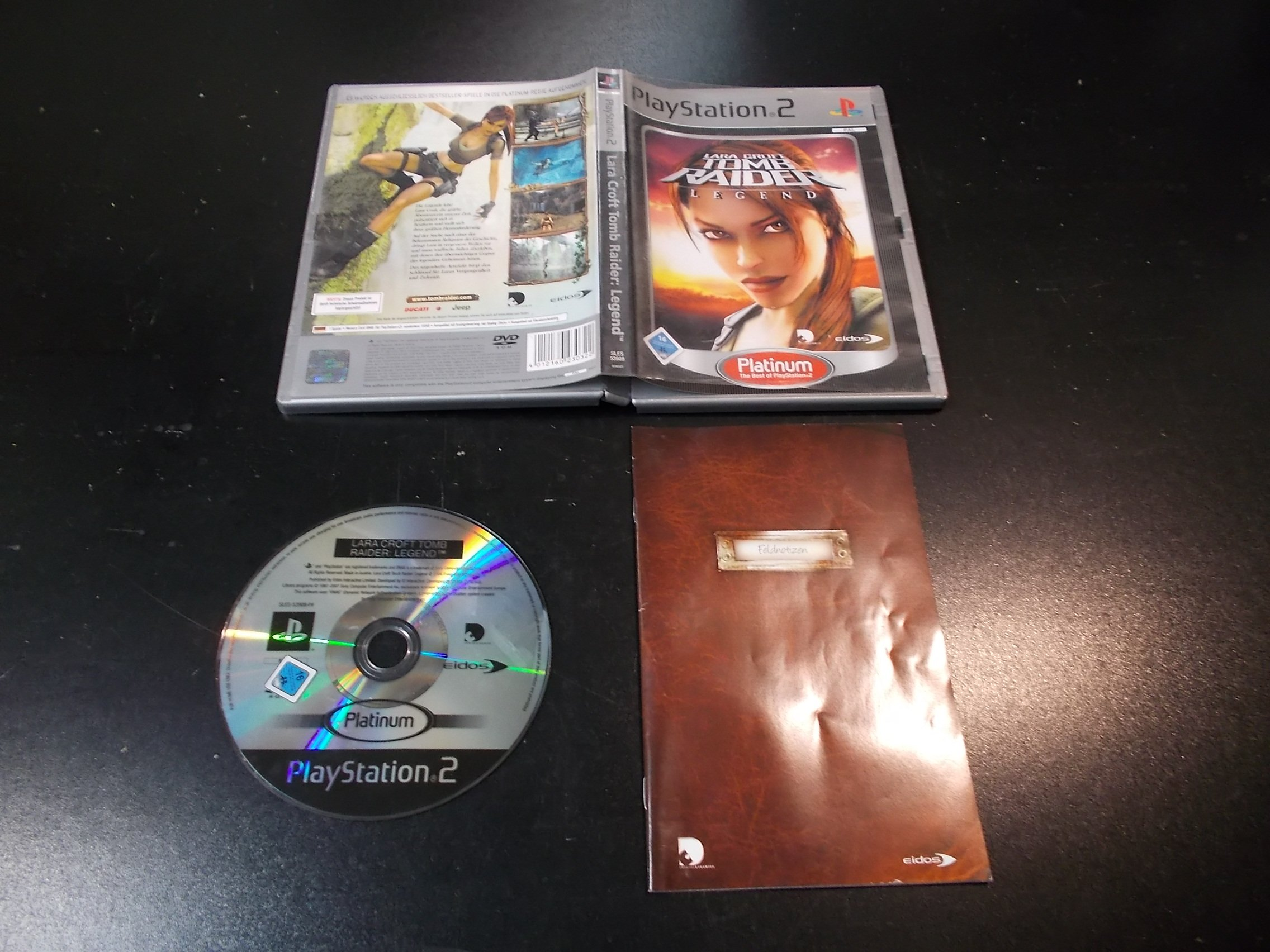 Lara Croft Tomb Raider Legend - GRA Ps2 - Sklep