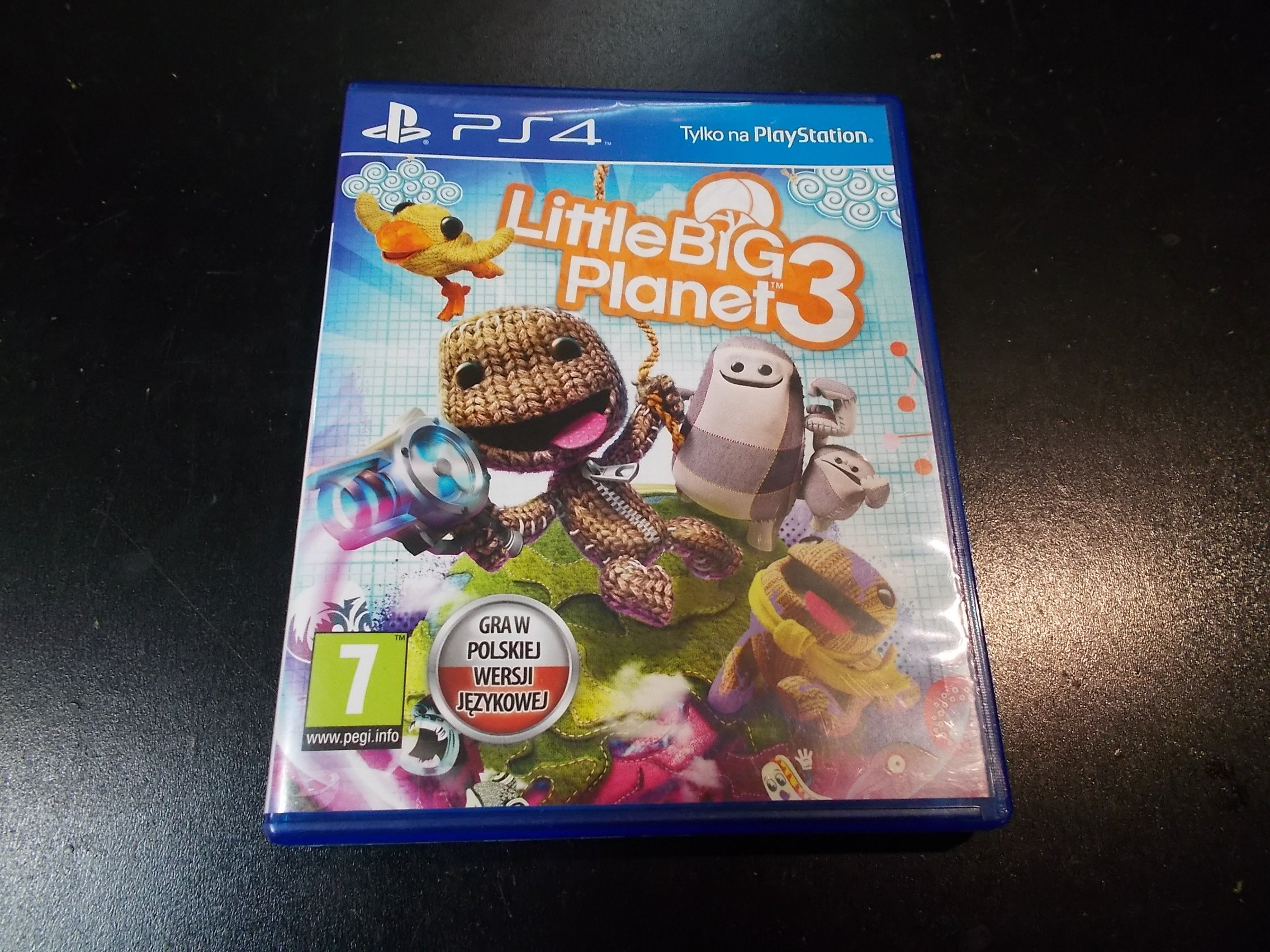 Little Big Planet 3 - GRA Ps4 - Sklep