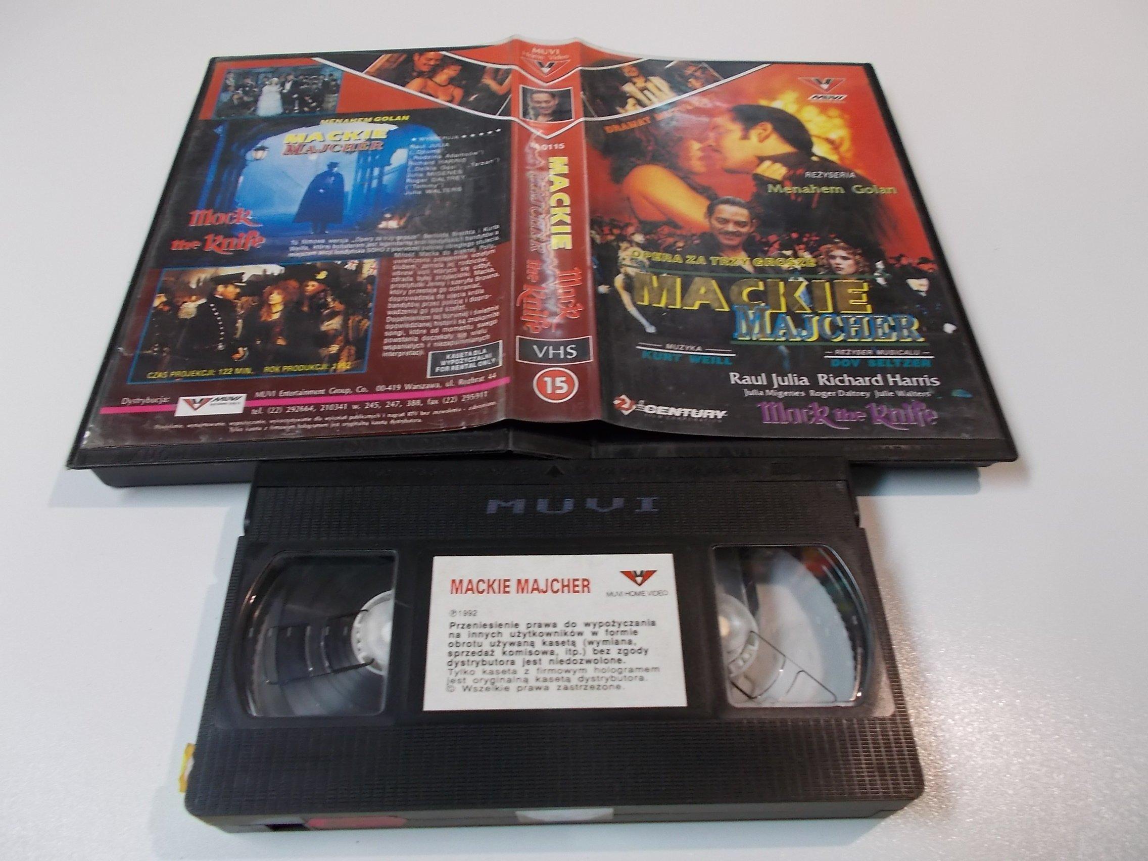 MACKIE MAJCHER - kaseta Video VHS - 1441 Sklep