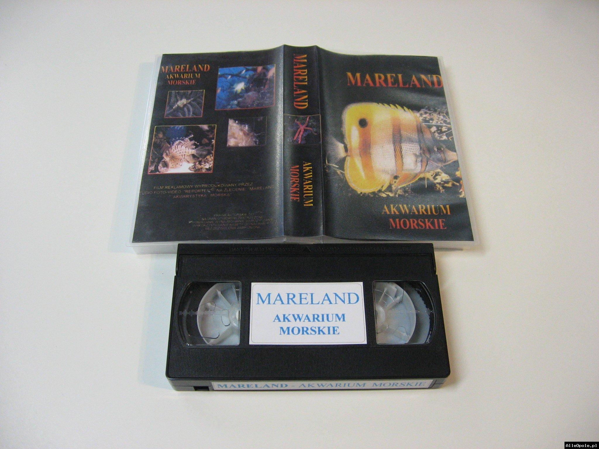 MARELAND AKWARIUM MORSKIE - VHS Kaseta Video - Opole 1756