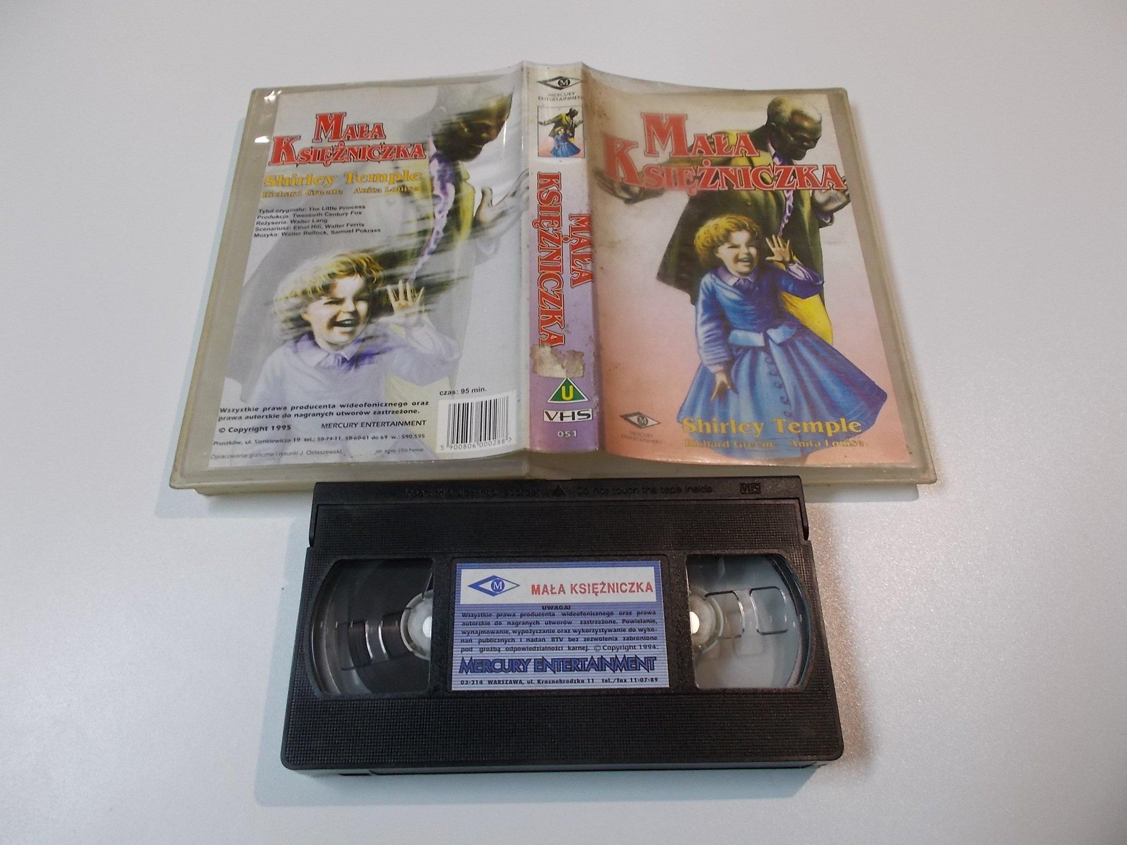 MAŁA KSIĘŻNICZKA - kaseta Video VHS - 1445 Sklep