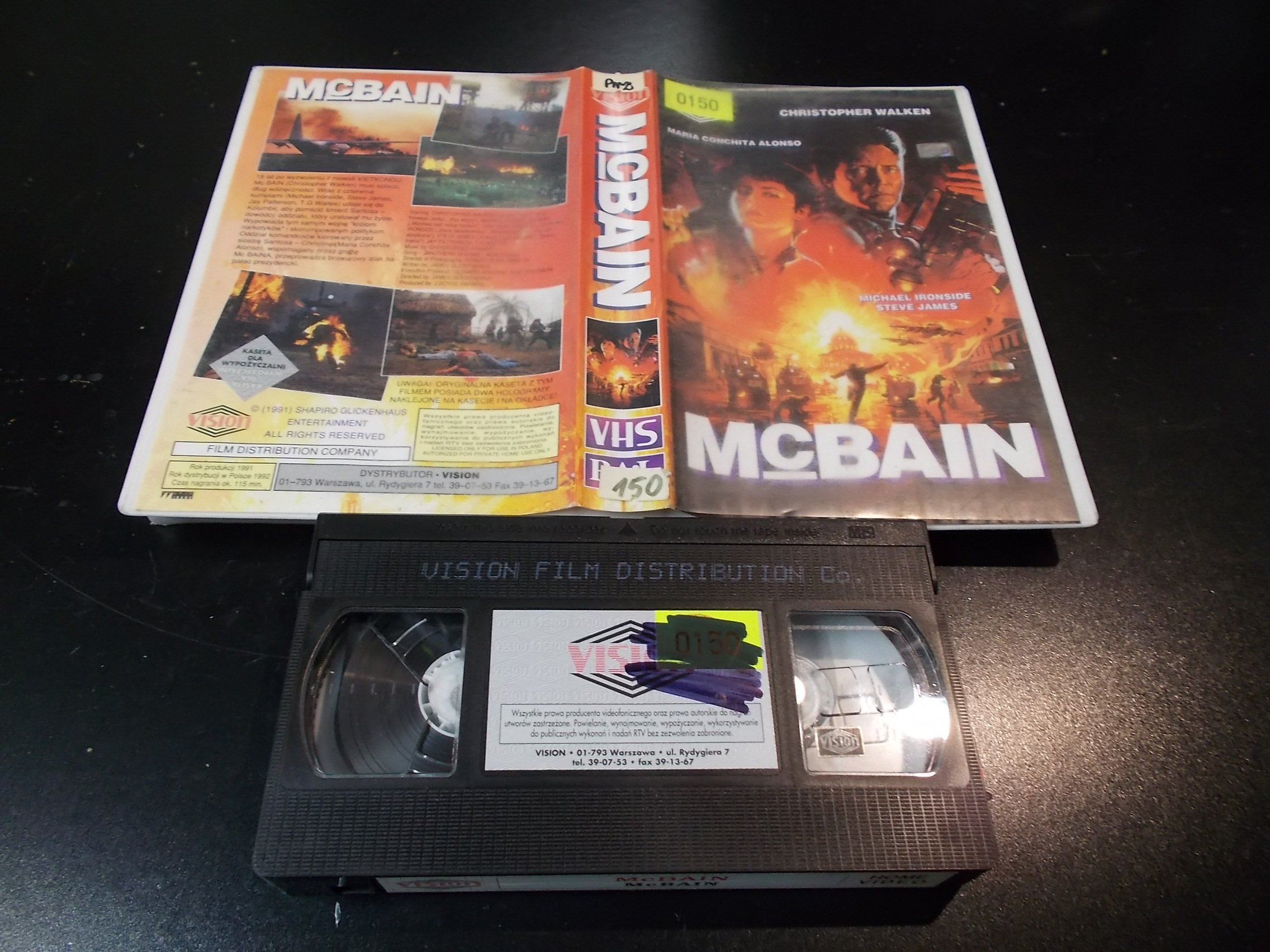 MCBAIN - kaseta Video VHS - 1410 Sklep