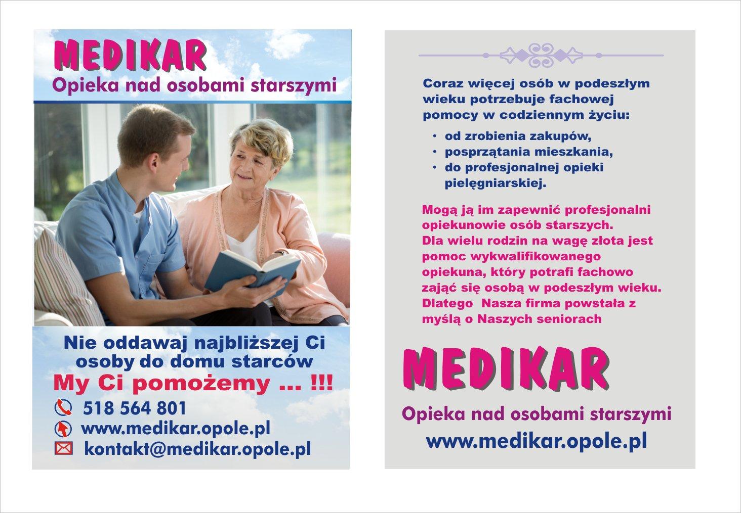 MEDIKAR Profesjonalna opieka nad osobami starszymi