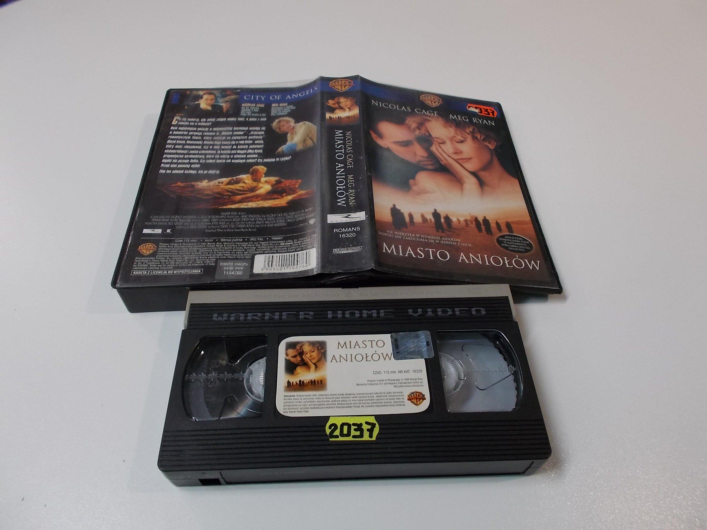 MIASTO ANIOŁÓW - VHS Kaseta Video - Opole 1608