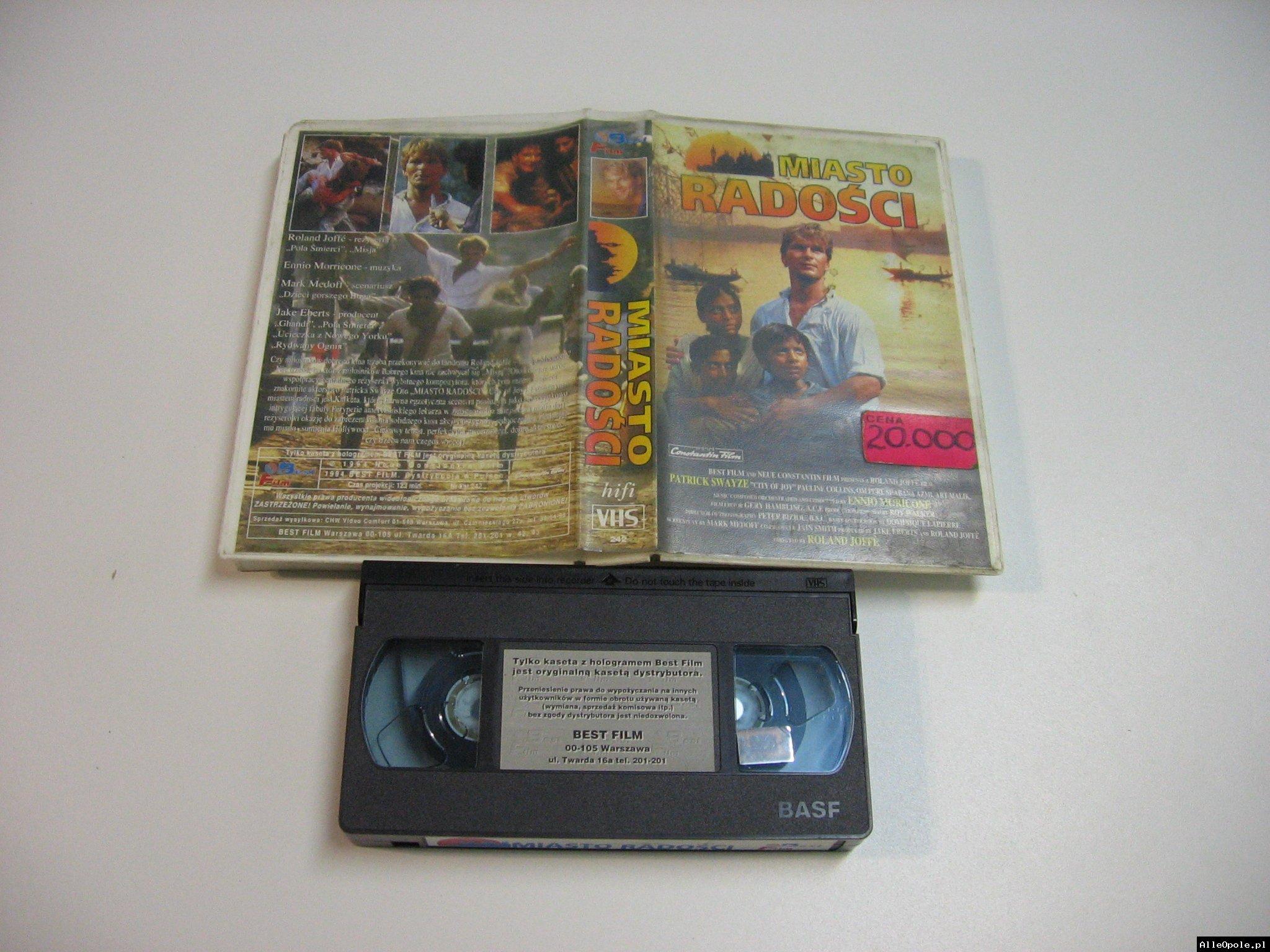 MIASTO RADOŚCI - VHS Kaseta Video - Opole 1811