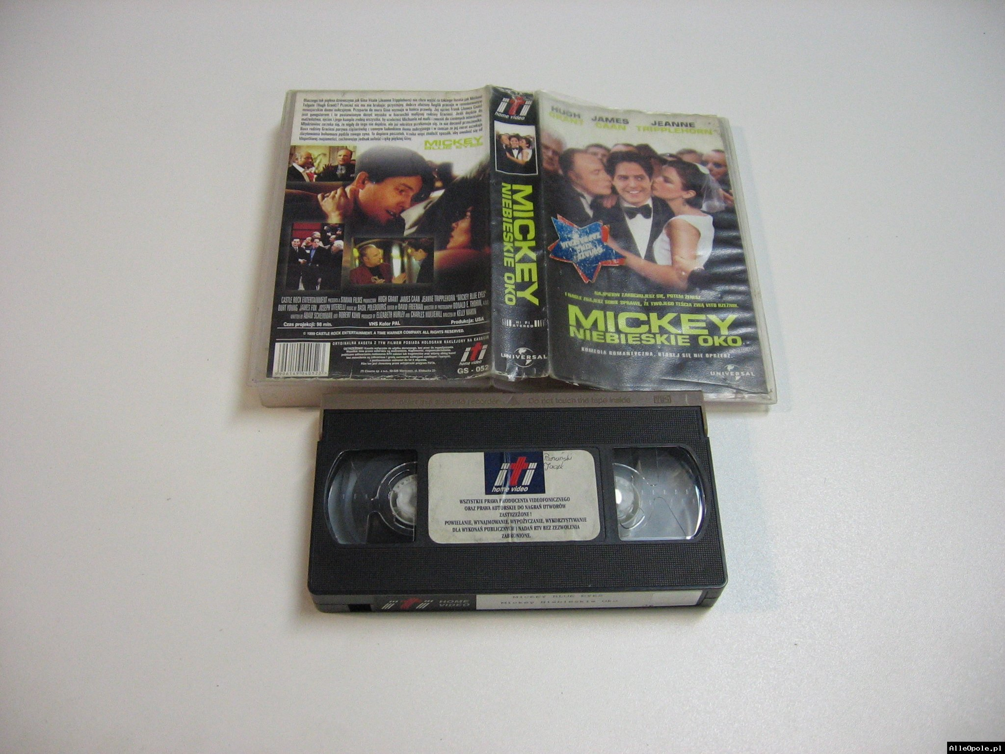 MICKEY NIEBIESKIE OKO - VHS Kaseta Video - Opole 1843