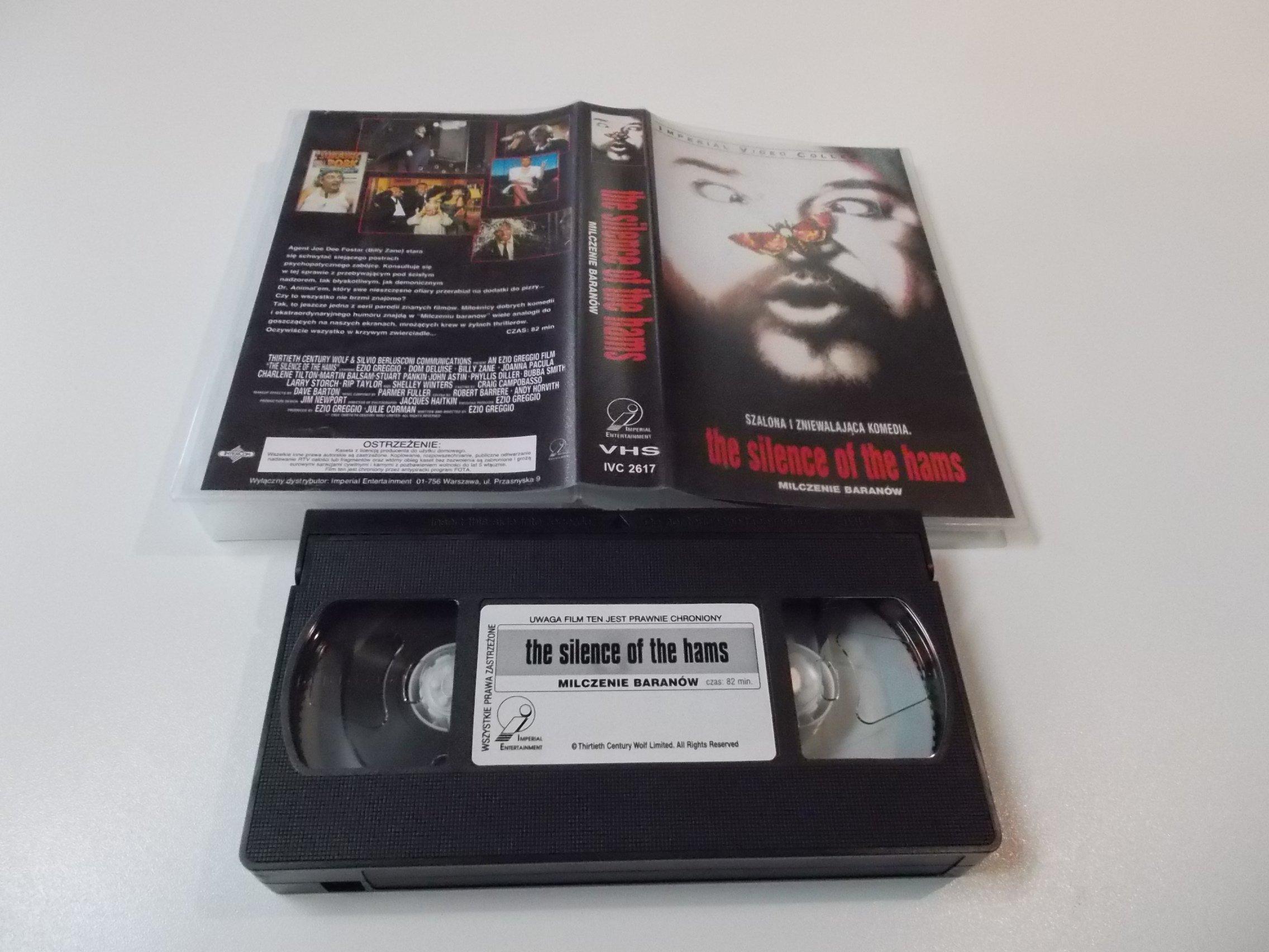 MILCZENIE BARANÓW - Kaseta Video VHS - Opole 1558