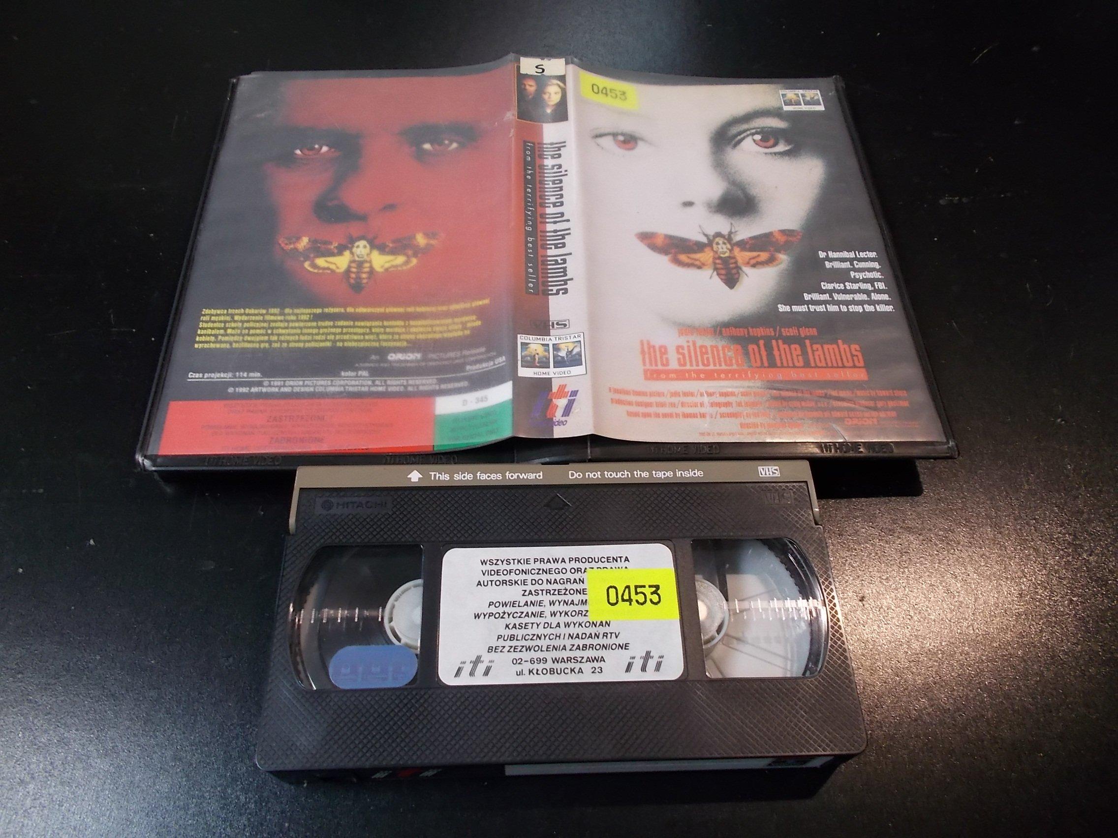 MILCZENIE OWIEC - ANTHONY HOPKINS - kaseta Video VHS - 1374 Sklep