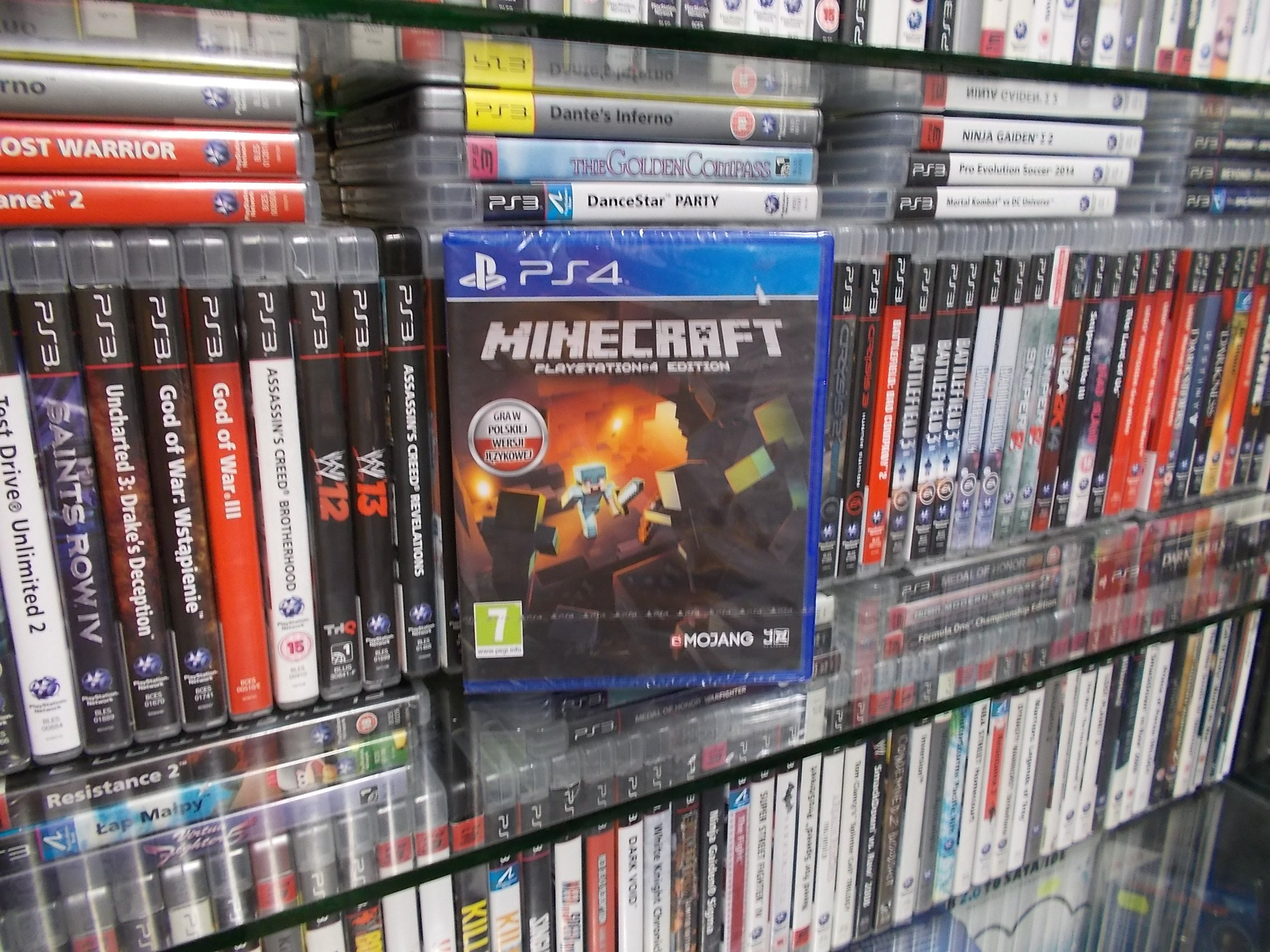 MINECRAFT PL NOWA - GRA PS4 - Sklep