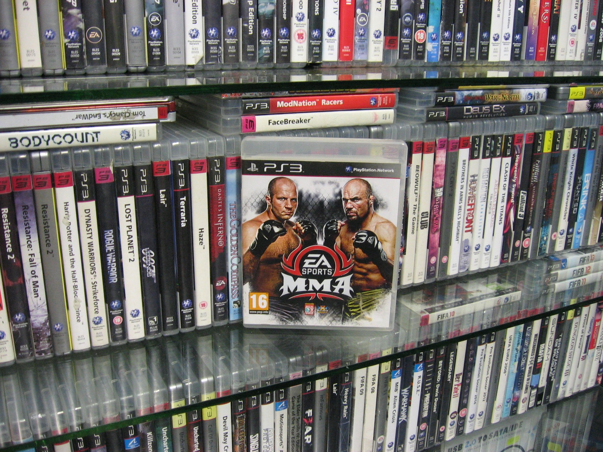 MMA EA SPORTS - GRA PS3 Sklep 0049
