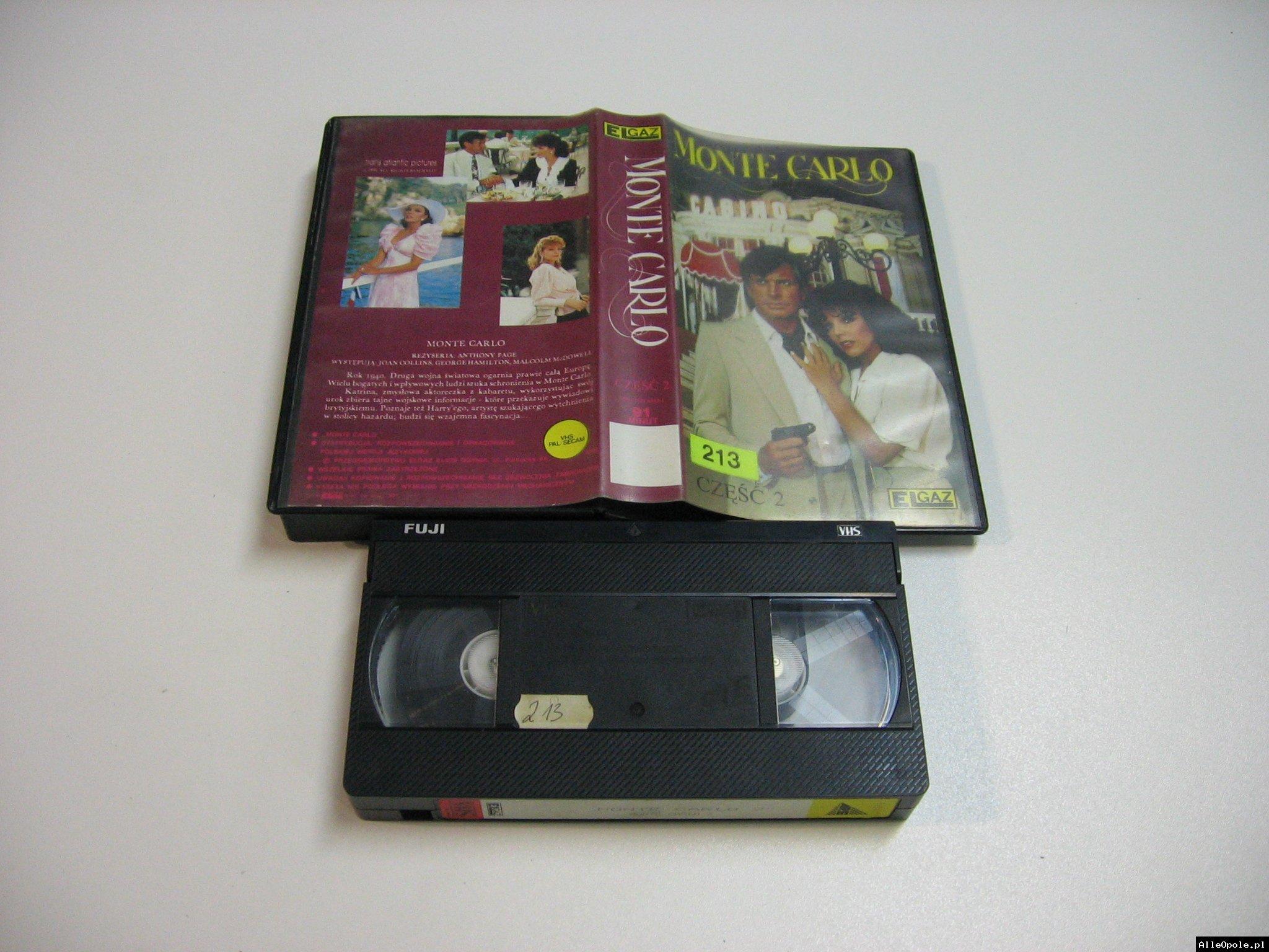 MONTE CARLO 2 - VHS Kaseta Video - Opole 1842
