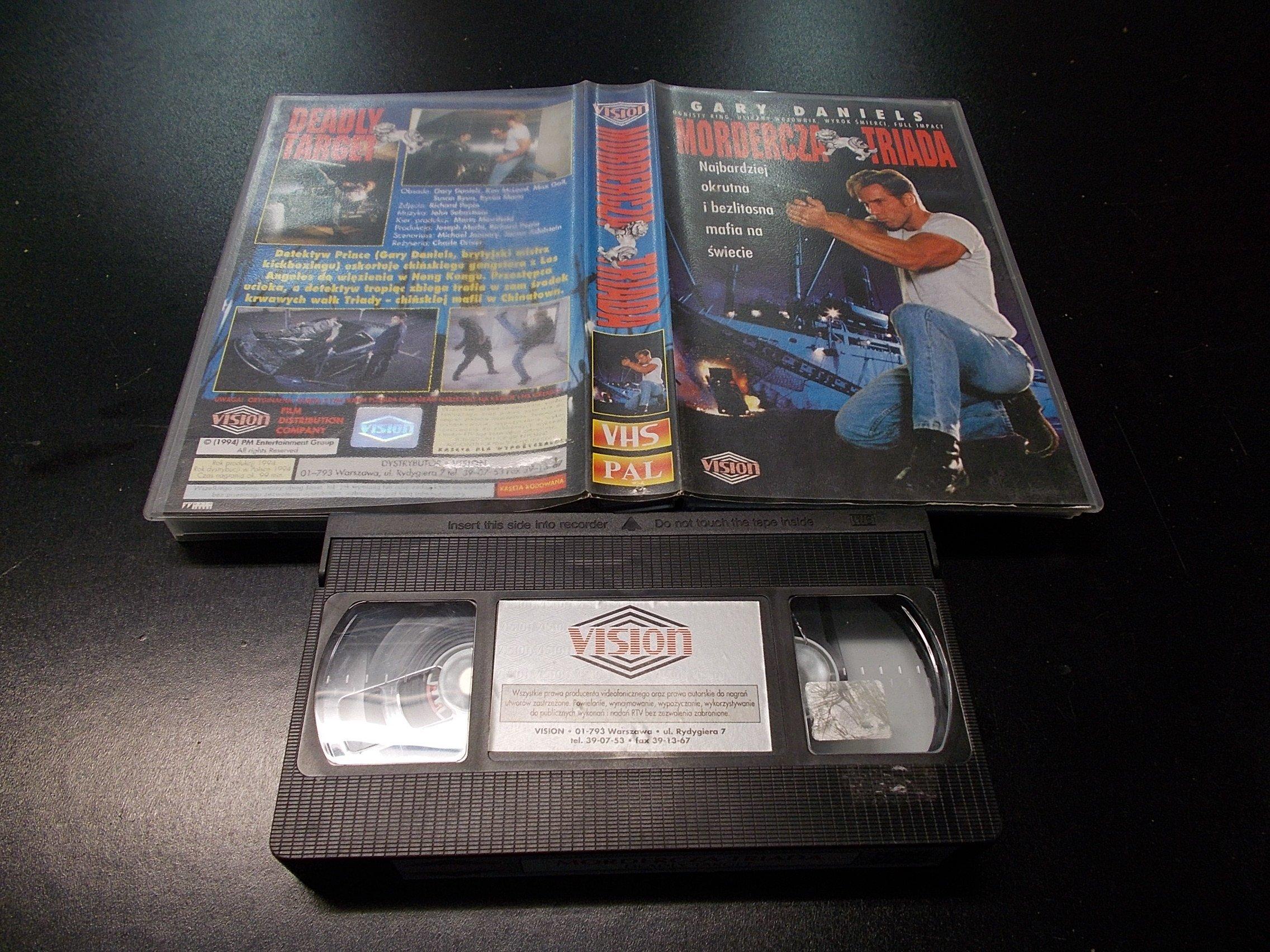 MORDERCZA TRIADA -  kaseta Video VHS - 1322 Opole - AlleOpole.pl