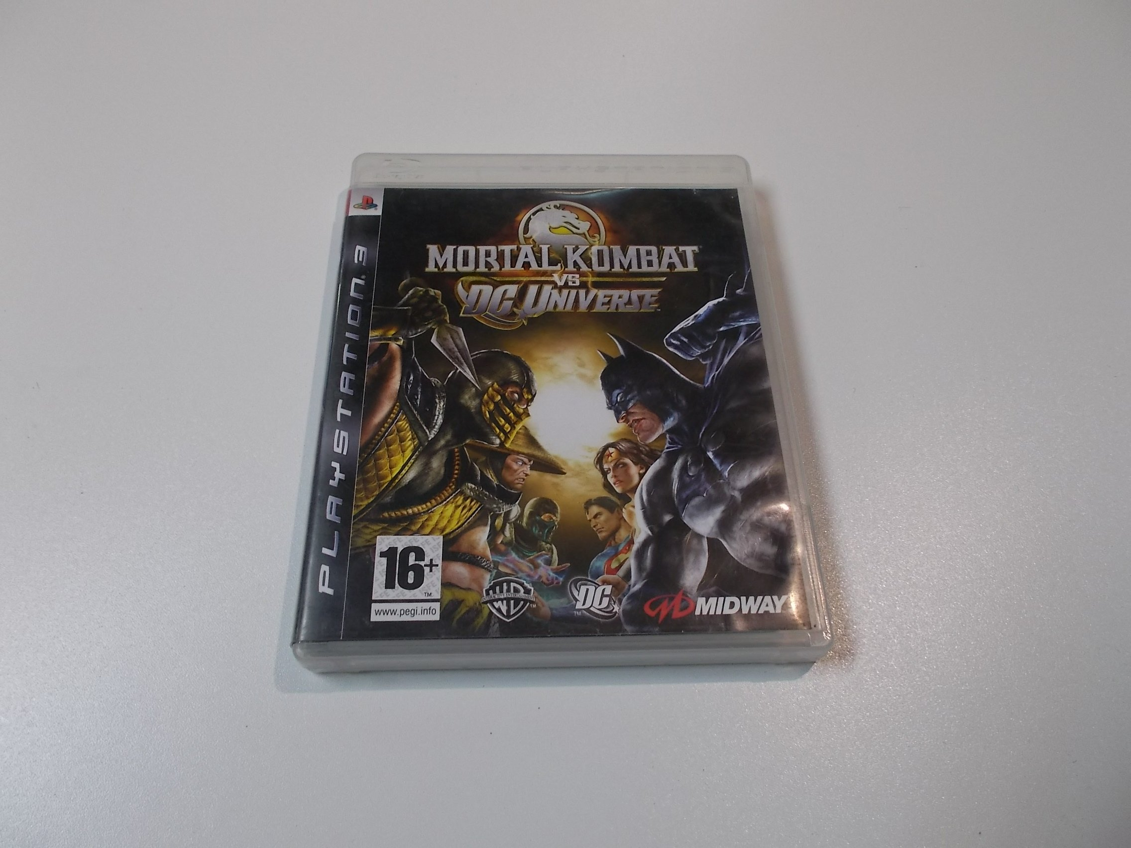 MORTAL KOMBAT VS DC UNIVERSE - GRA Ps3 - 0387