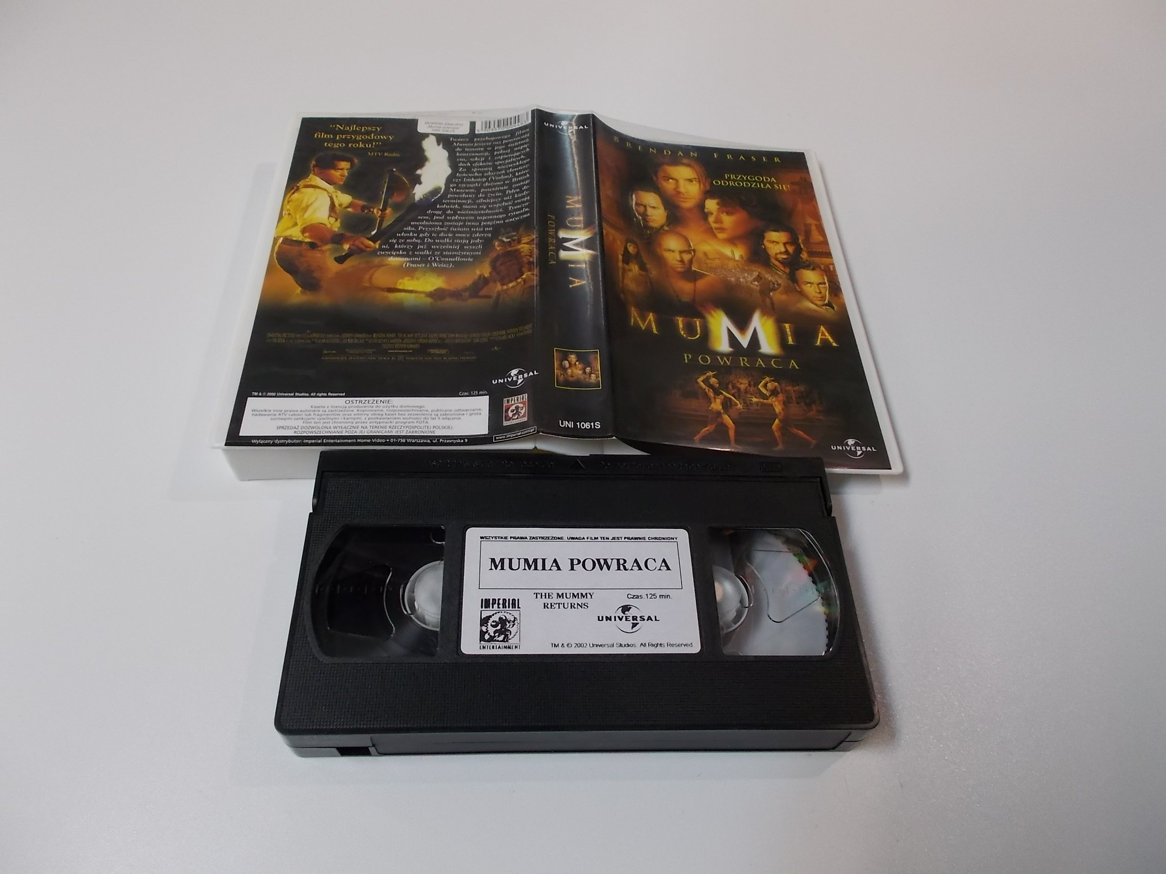 MUMIA POWRACA - VHS Kaseta Video - Opole 1634