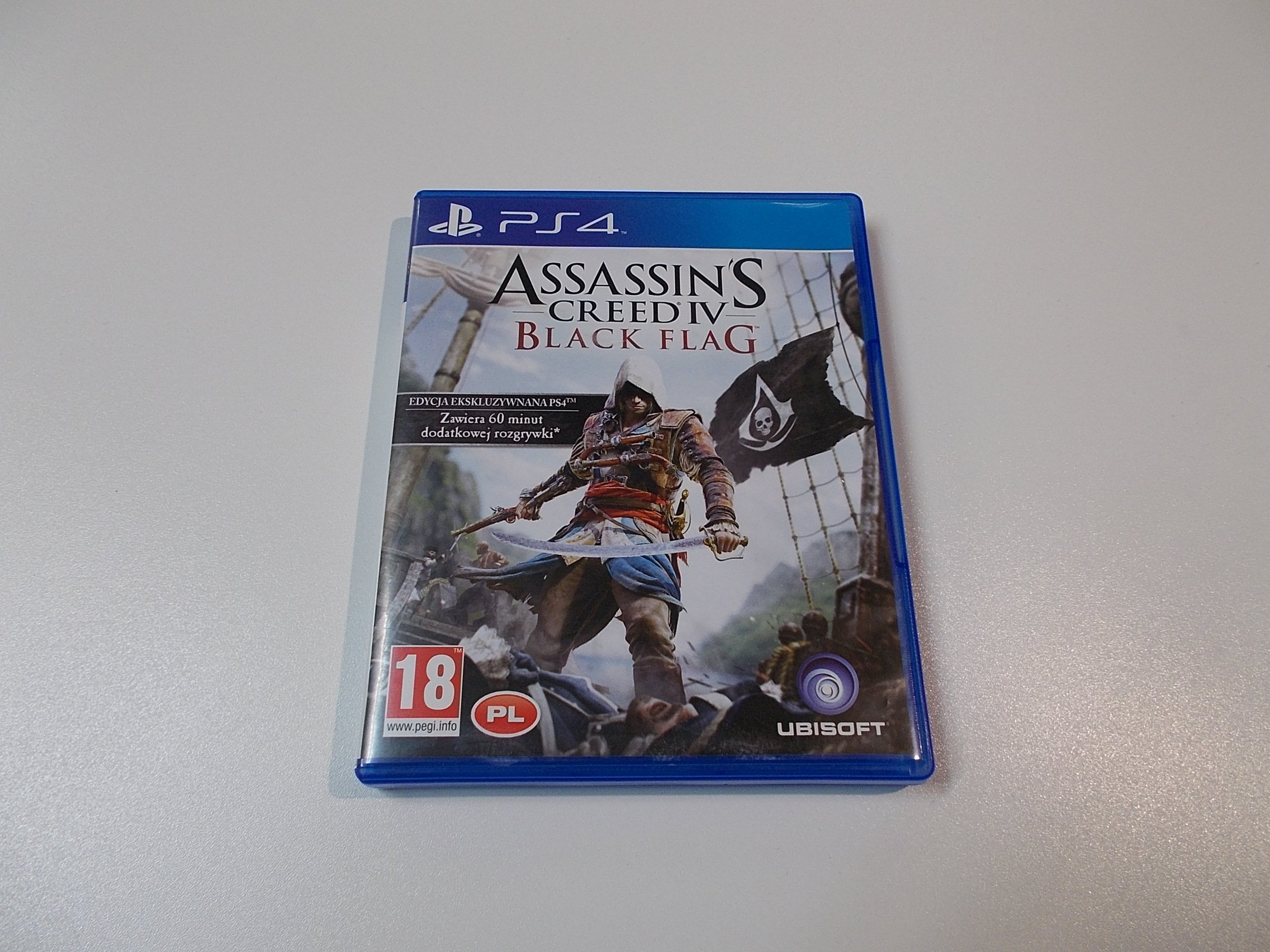 Assassin's Assassins Creed IV Black Flag PL - GRA Ps4 - Sklep