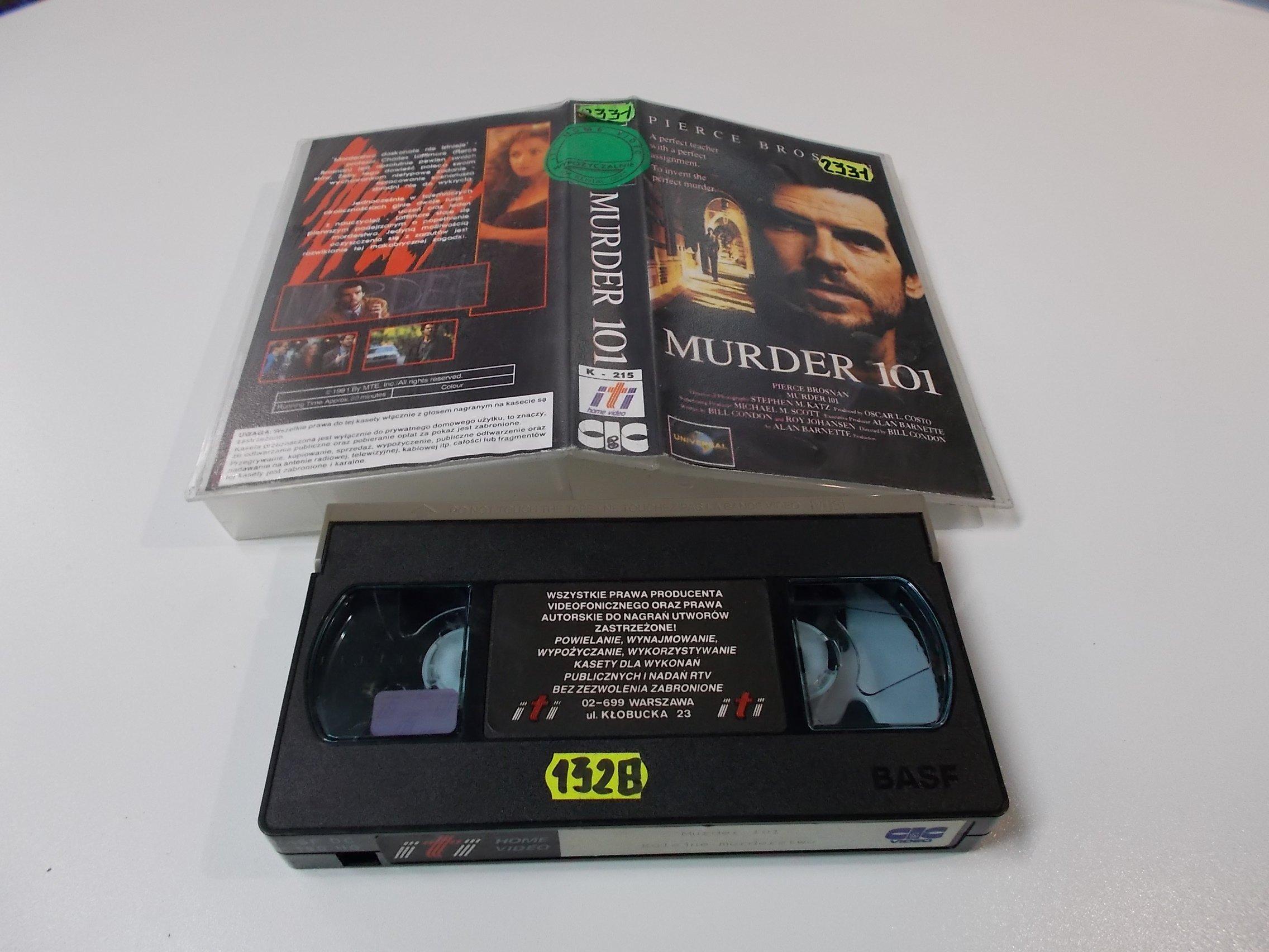 MURDER 101 - VHS Kaseta Video - Opole 1617