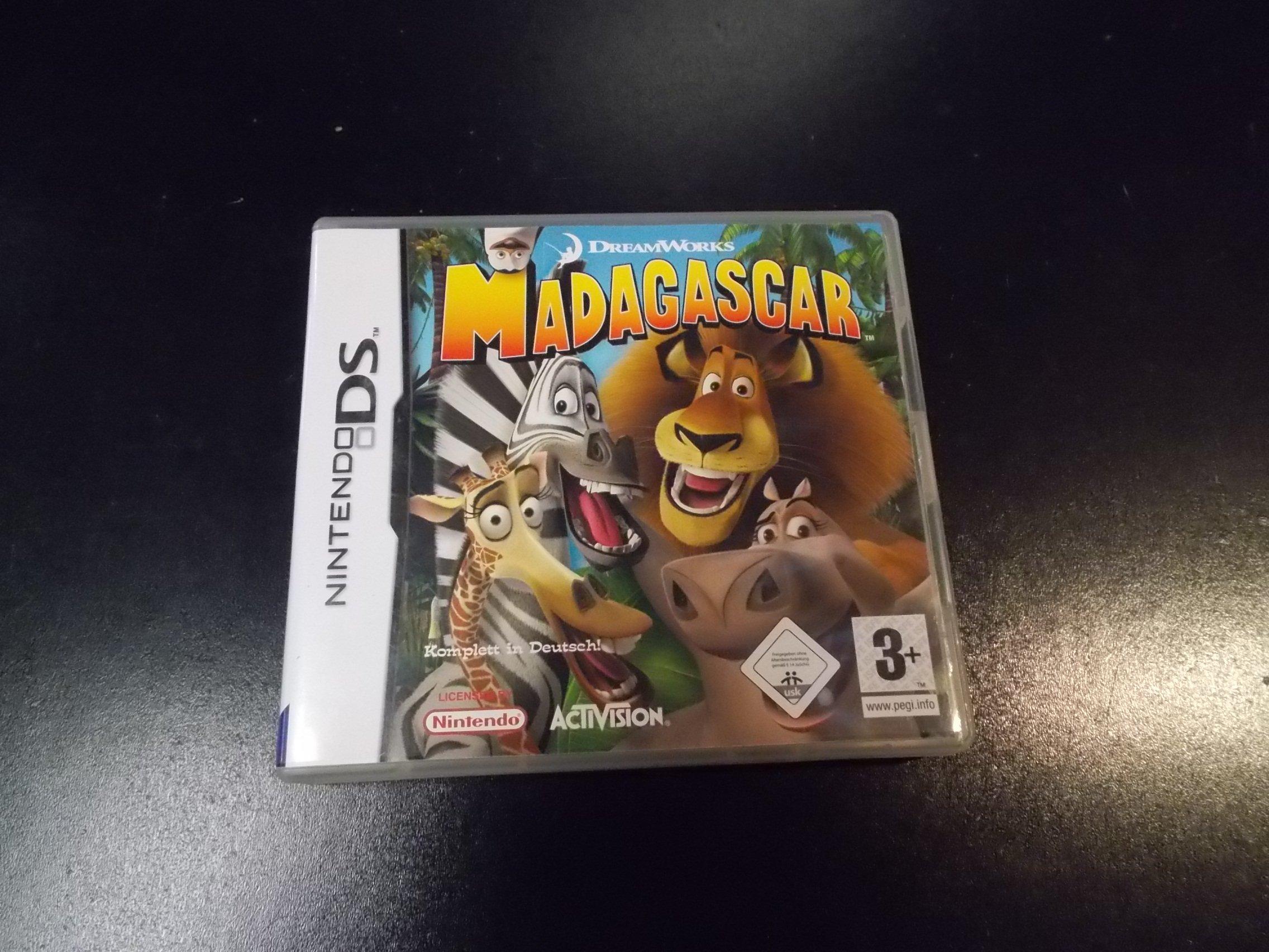 Madagascar - GRA Nintendo DS Sklep