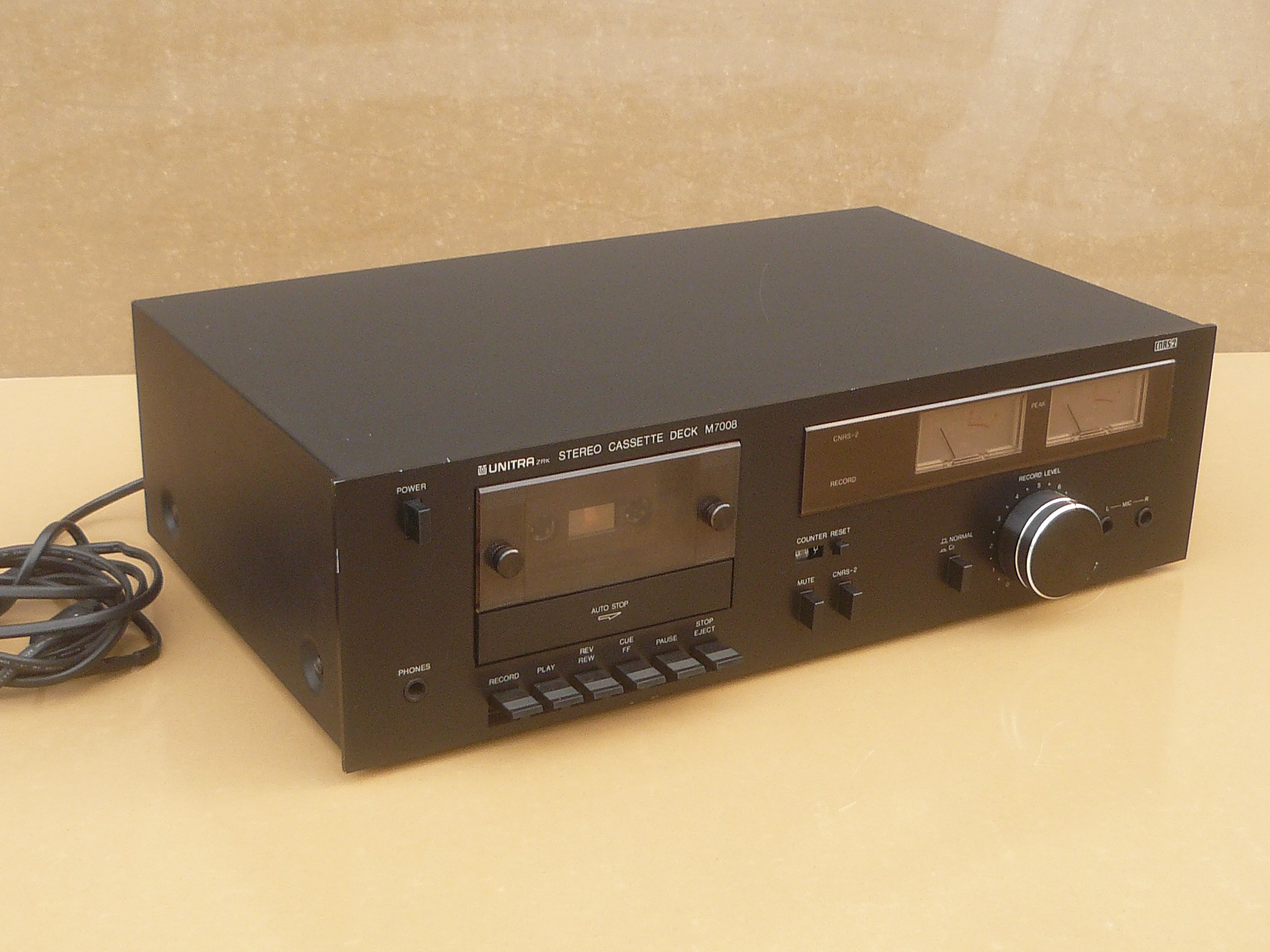 Magnetofon Unitra ZRK stereo Cassette deck m7008