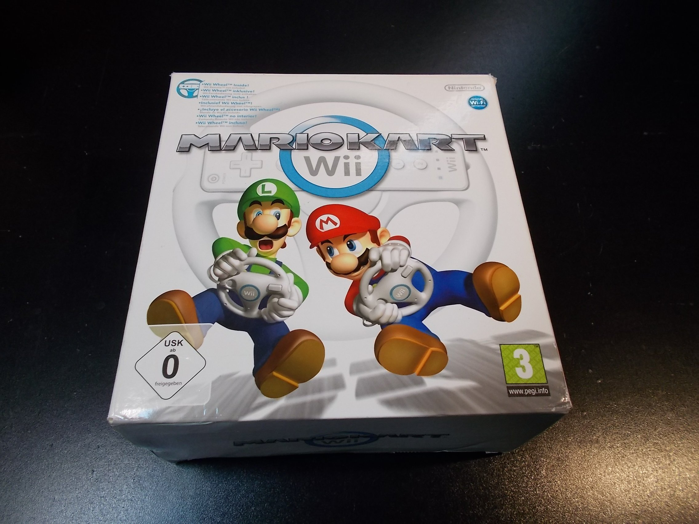 Mario Kart + Kierownica - GRA Nintendo Wii Sklep