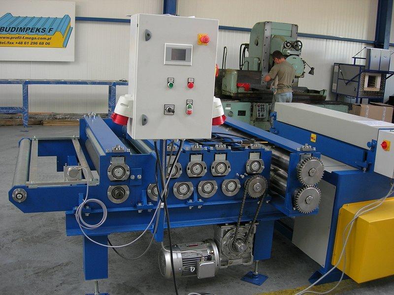 Maszyna do cięcia stali na paski