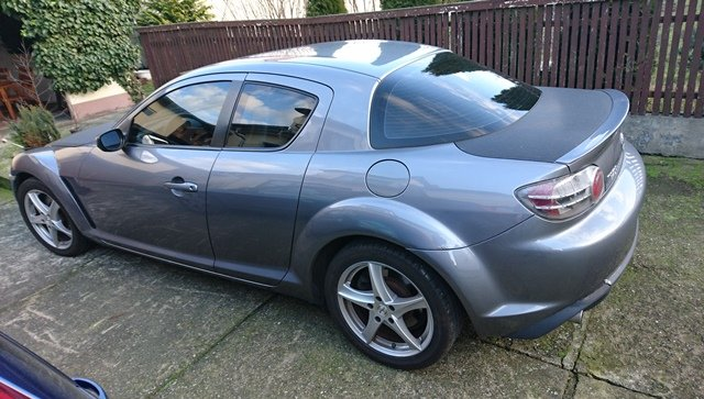 Mazda RX-8 * 2003 * Skóra * Bose * Fulda * Carbon * Spoiler *