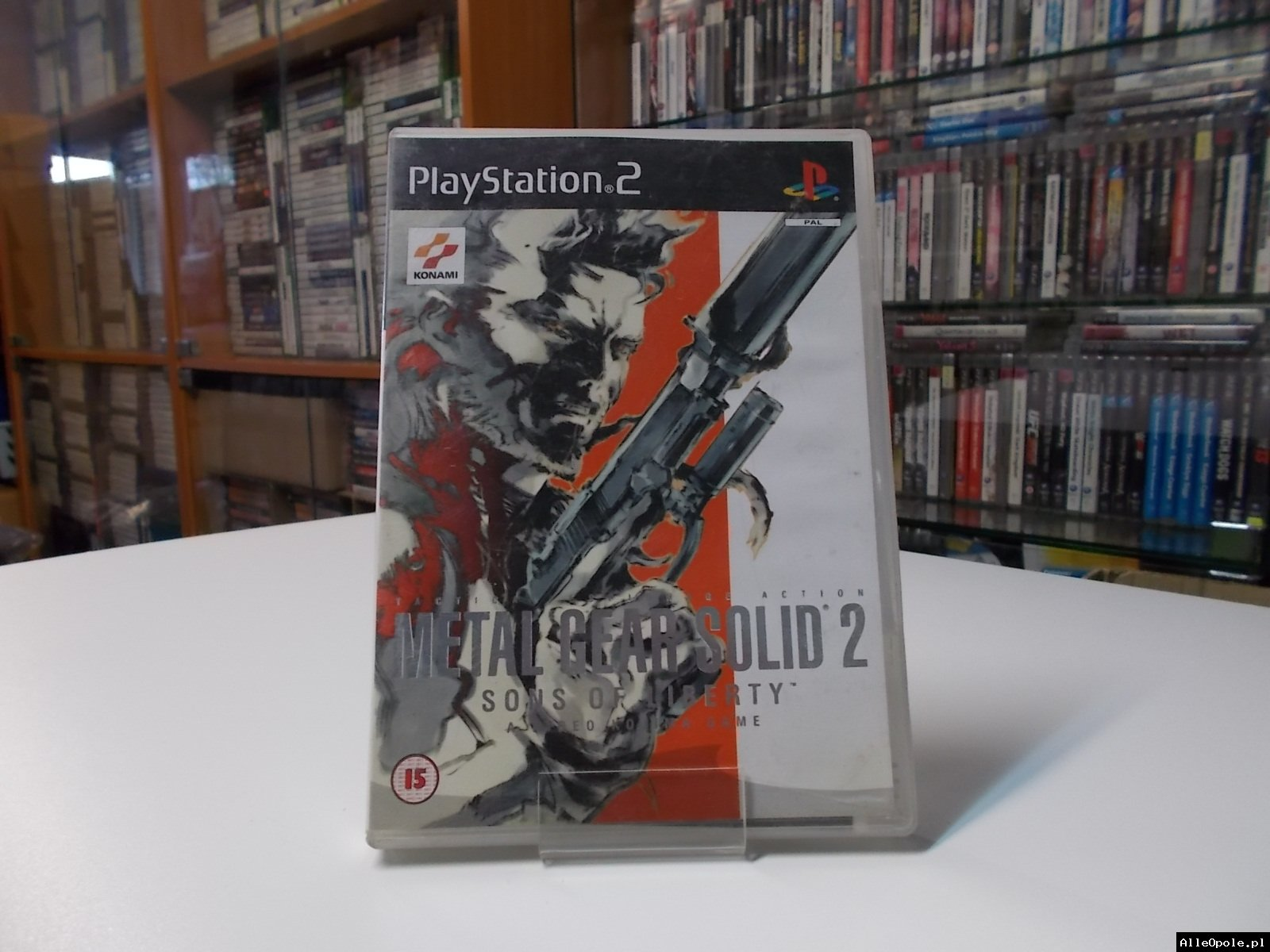 Metal Gear Solid 2 - GRA Ps2 - Opole 0529
