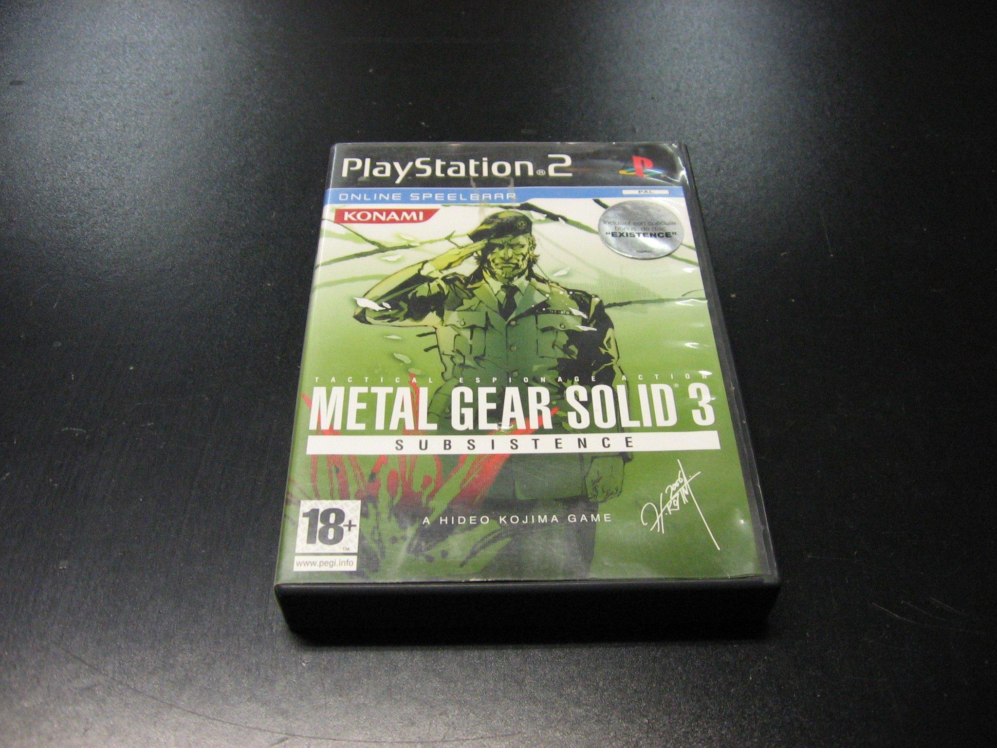 Metal Gear Solid 3 Subsistence - GRA PS2 Opole 0060