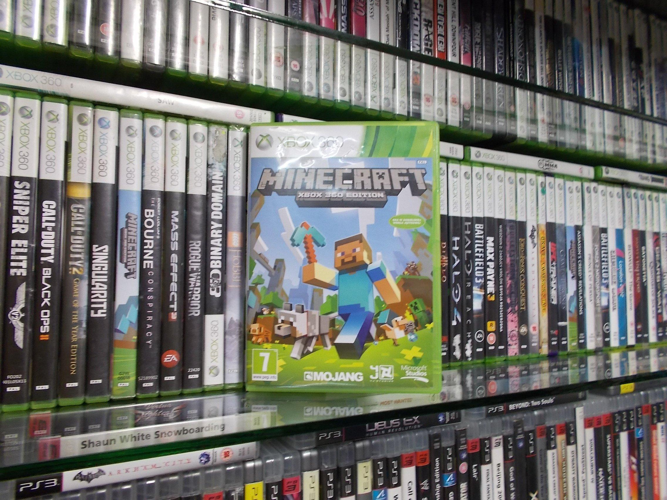 Minecraft - GRA XBOX 360 - Sklep