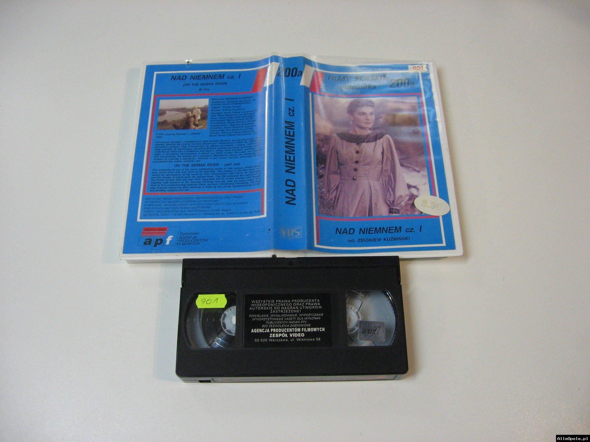 NAD NIEMNEM 1  - VHS Kaseta Video - Opole 1783