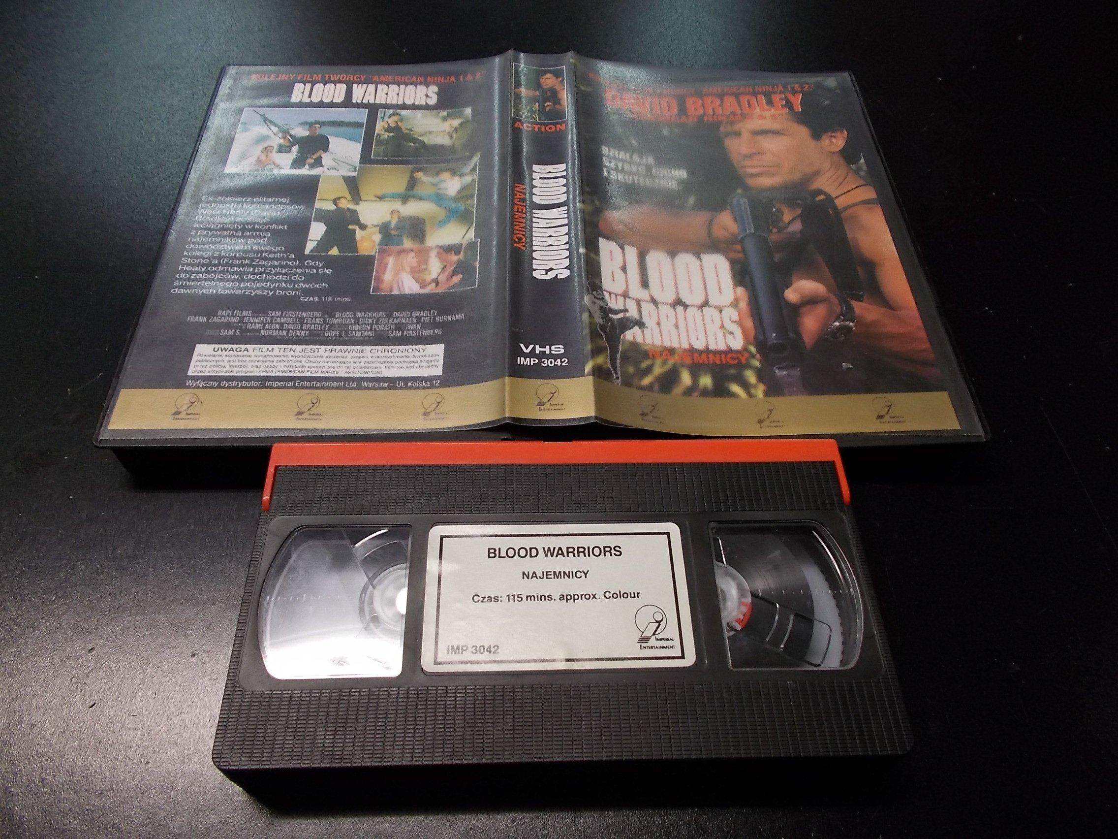 NAJEMNICY -  kaseta Video VHS - 1336 Opole - AlleOpole.pl
