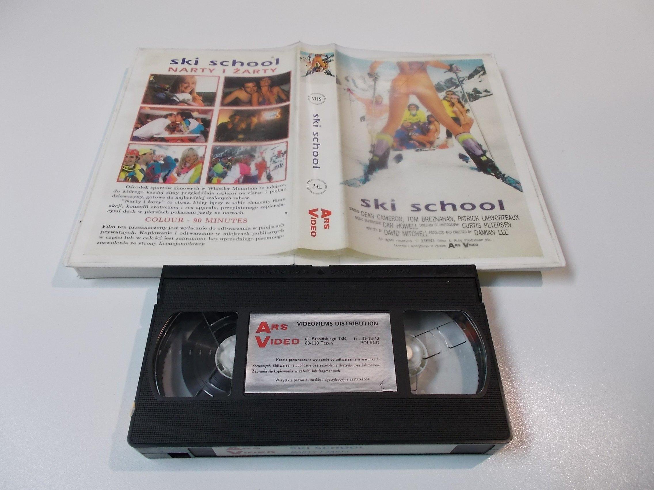NARTY I ŻARTY - kaseta Video VHS - 1440 Sklep