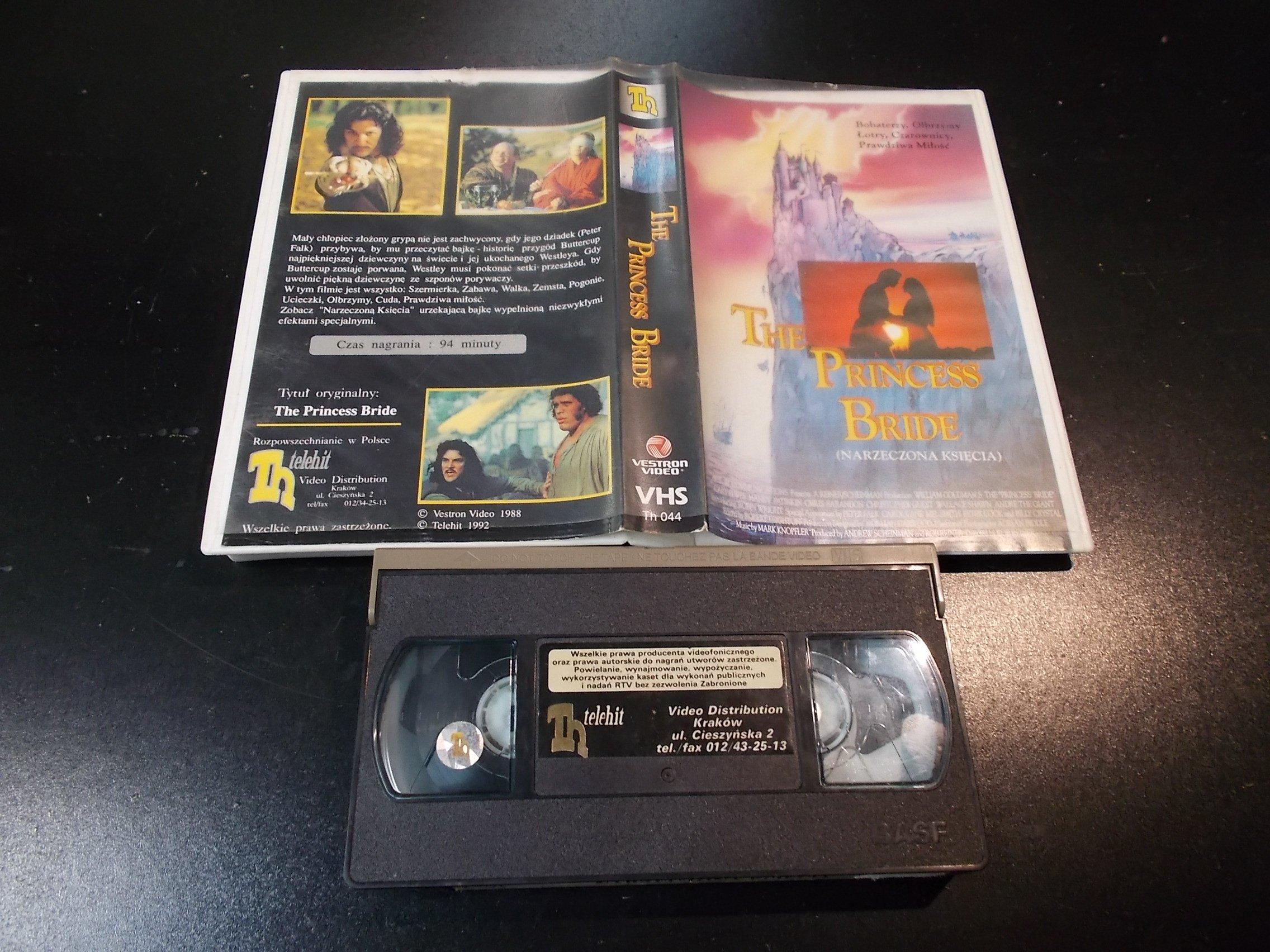 NARZECZONA KSIĘCIA - kaseta Video VHS - 1395 Sklep