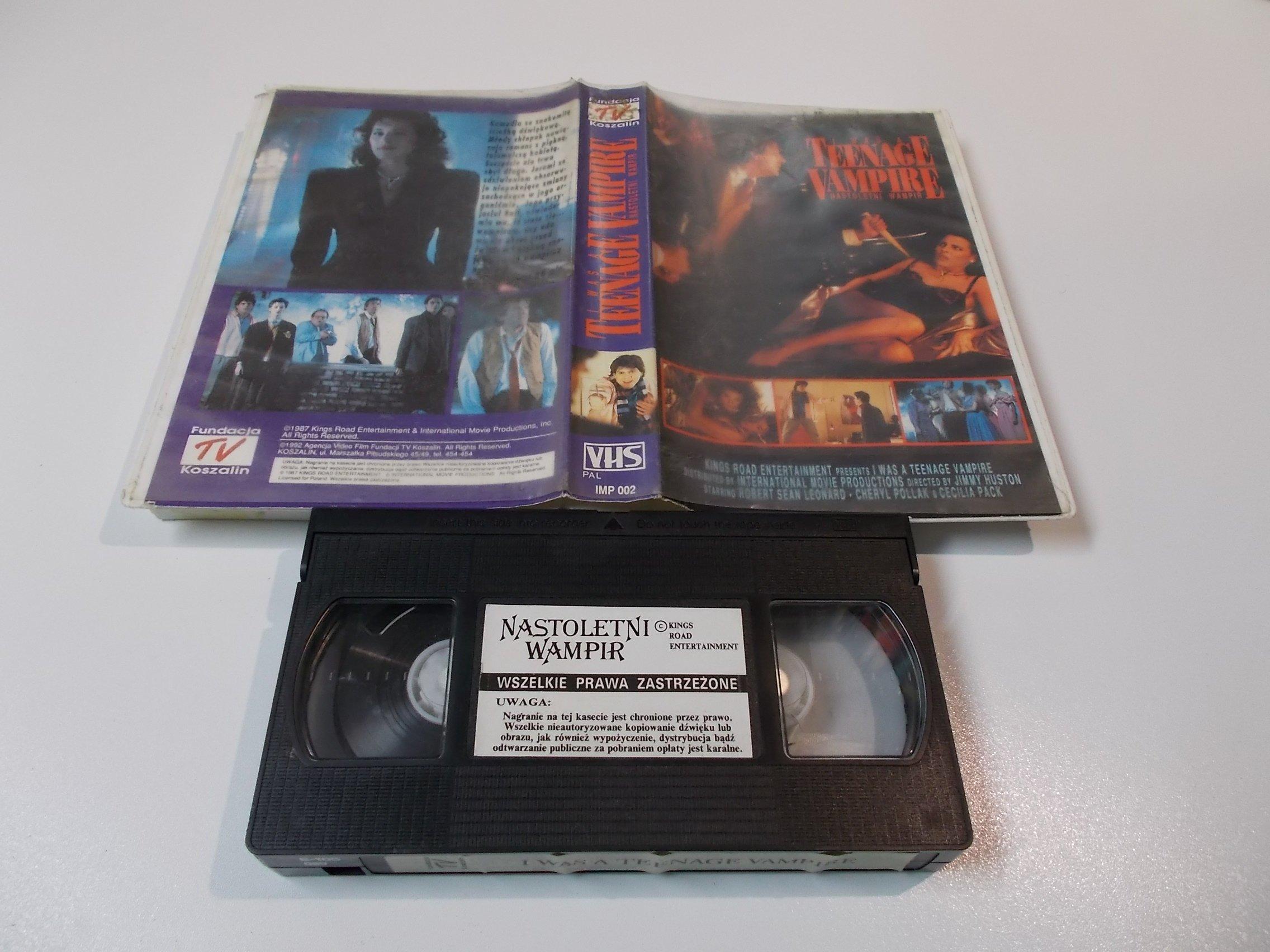 NASTOLETNI WAMPIR - kaseta Video VHS - 1434 Sklep