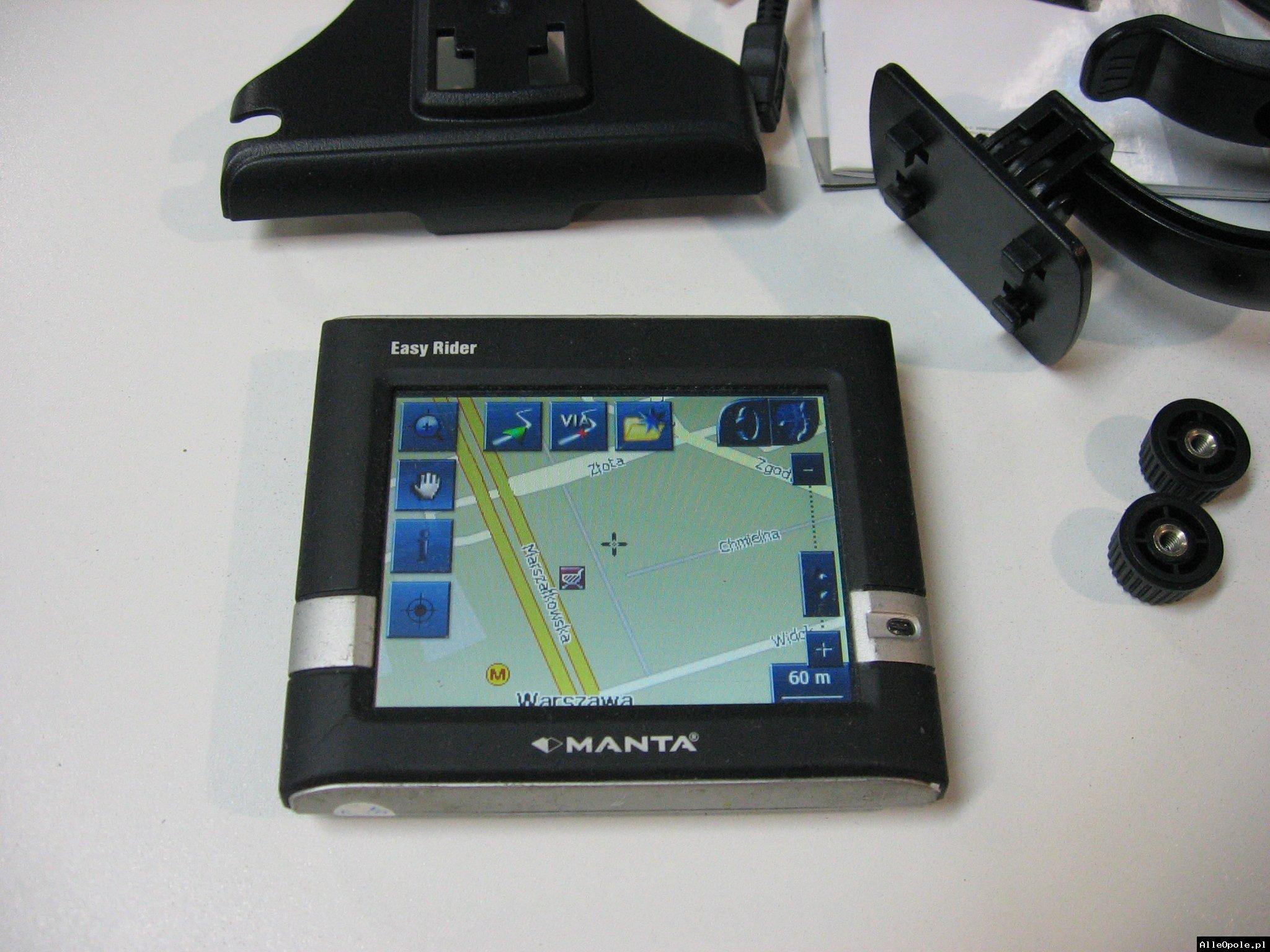 NAWIGACJA MANTA GPS-060 EASY RIDER - Opole