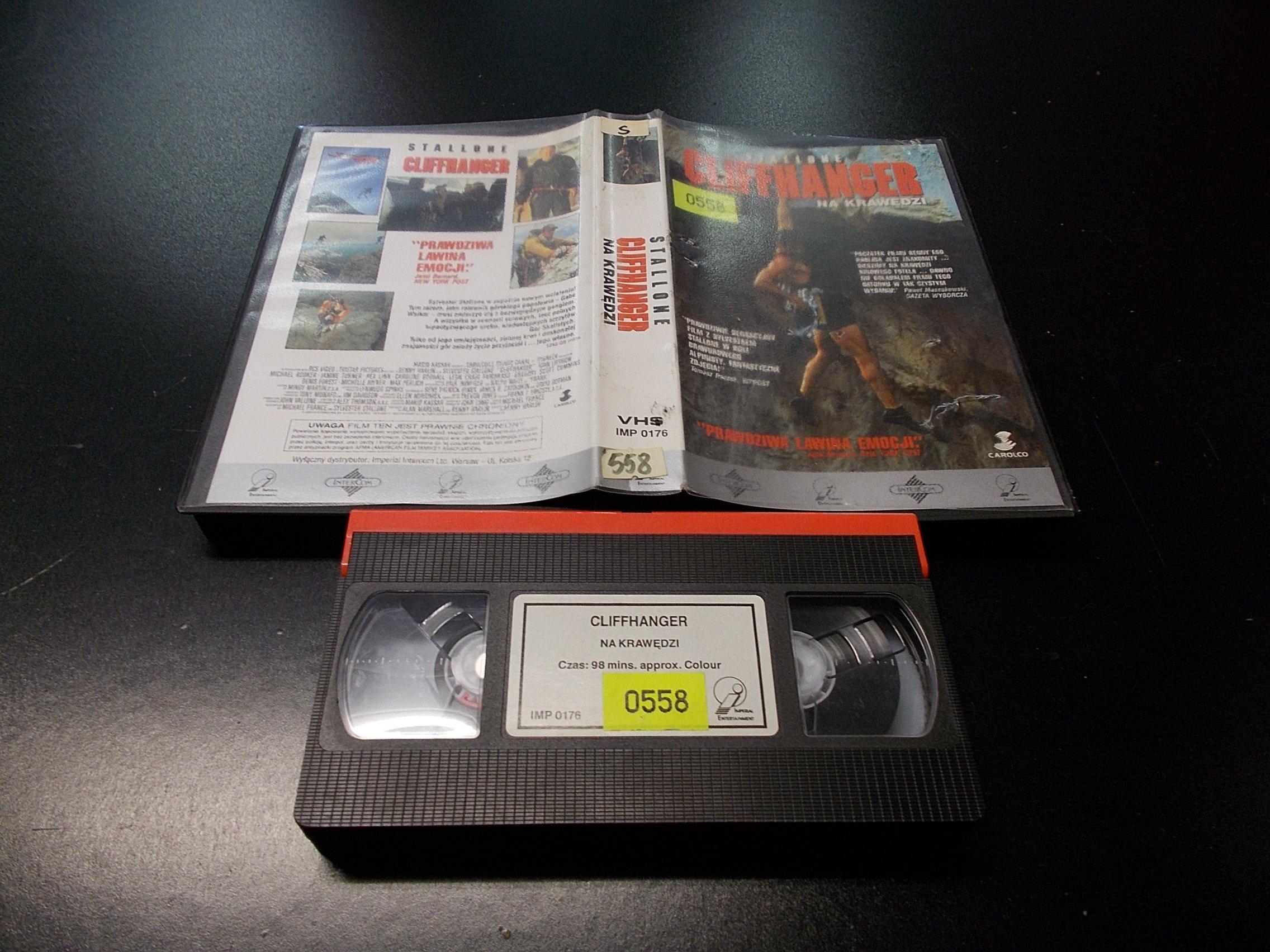 NA KRAWĘDZI - SYLVESTER STALLONE -  kaseta VHS - 1287 Opole - AlleOpole.pl