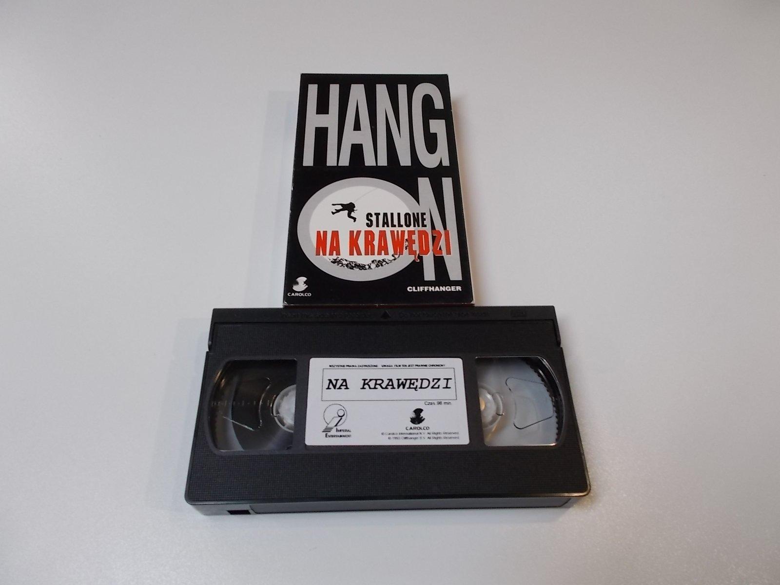 NA KRAWĘDZI - VHS Kaseta Video - Opole 1692
