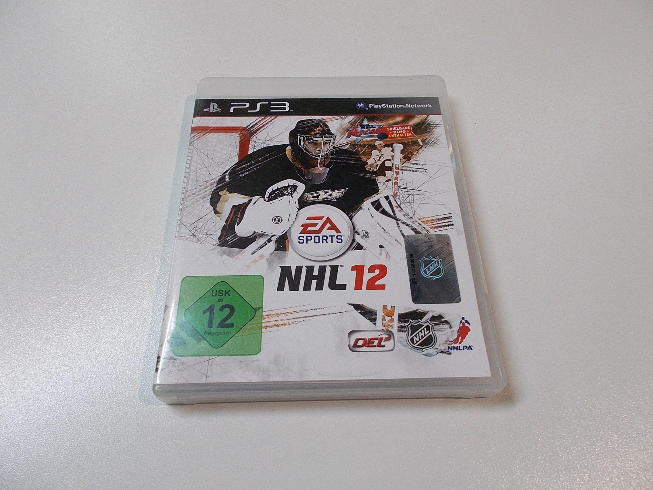 NHL 12 - GRA Ps3 - Sklep
