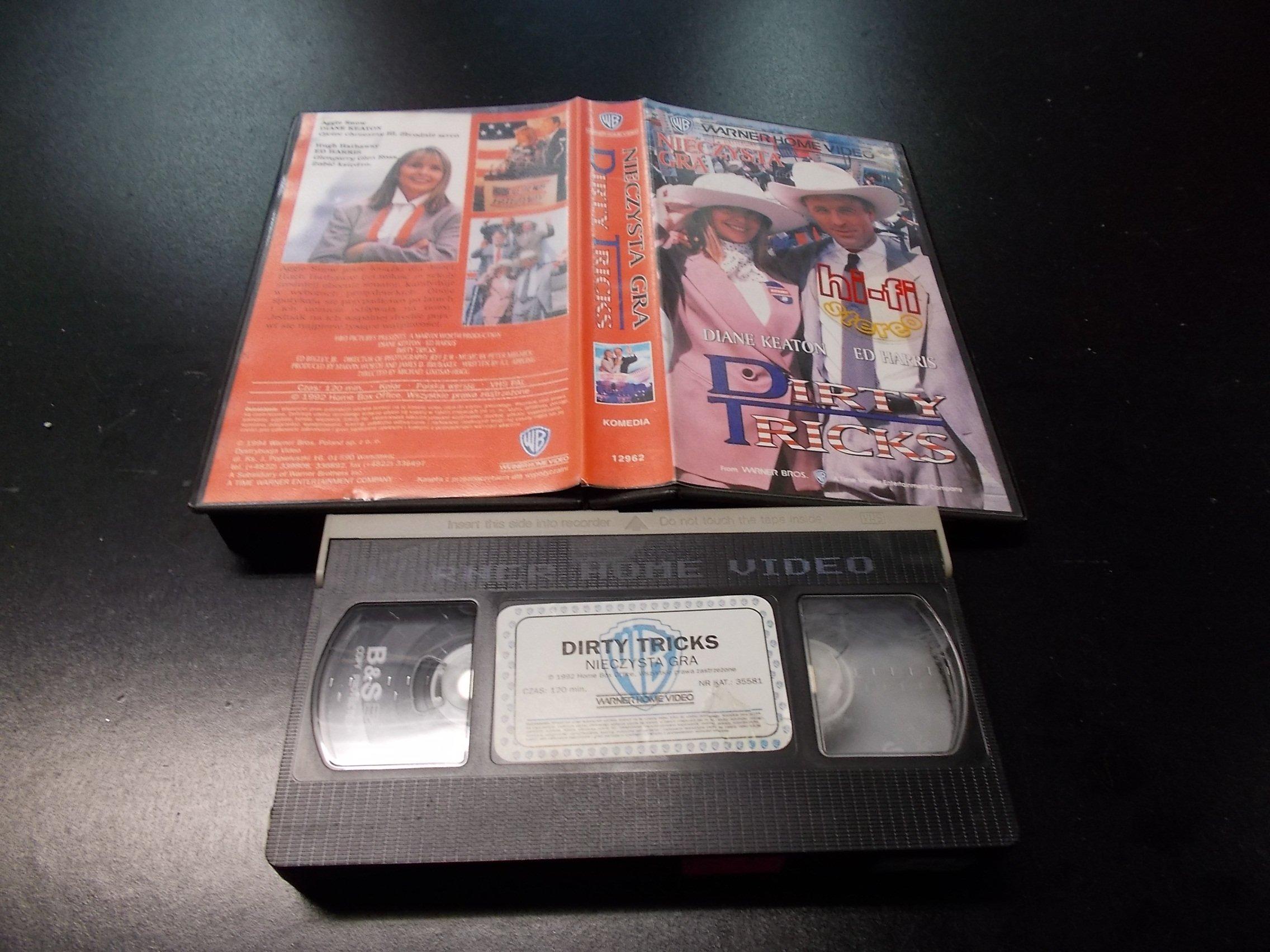 NIECZYSTA GRA -  kaseta VHS - 1232 Opole - AlleOpole.pl