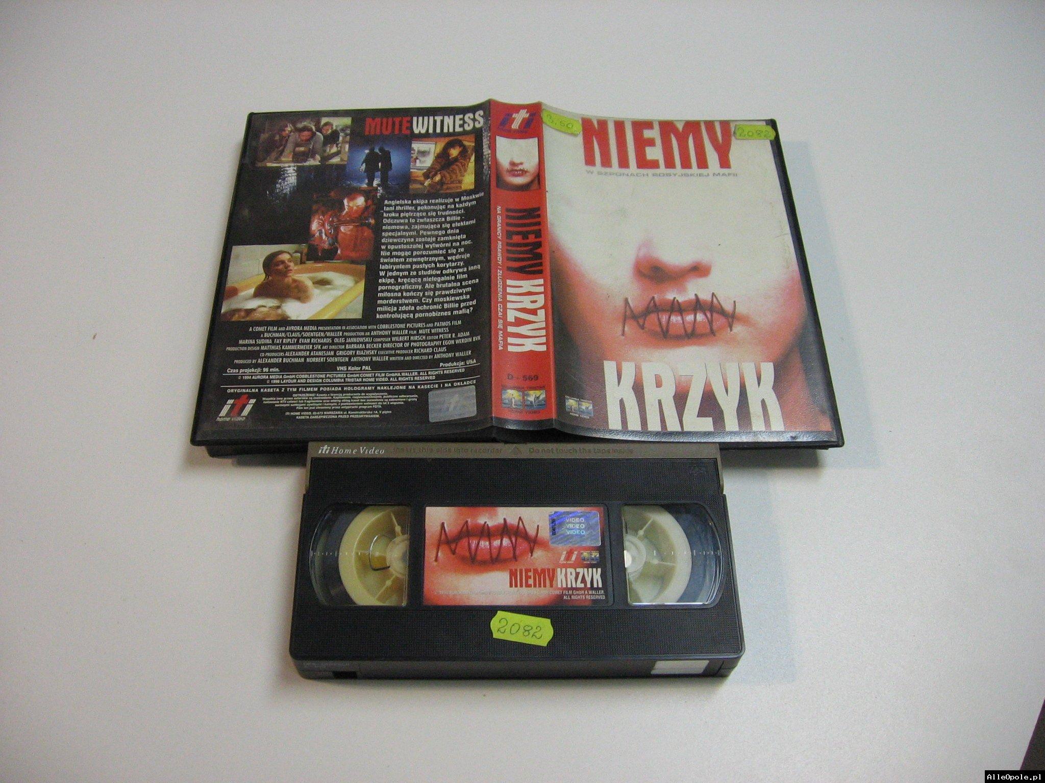 NIEMY KRZYK - VHS Kaseta Video - Opole 1823