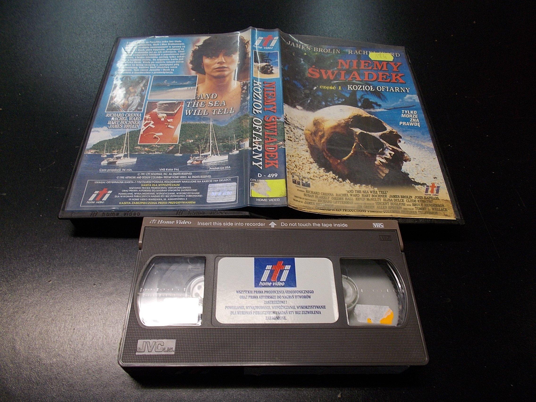 NIEMY ŚWIADEK 1 -  kaseta Video VHS - 1319 Opole - AlleOpole.pl