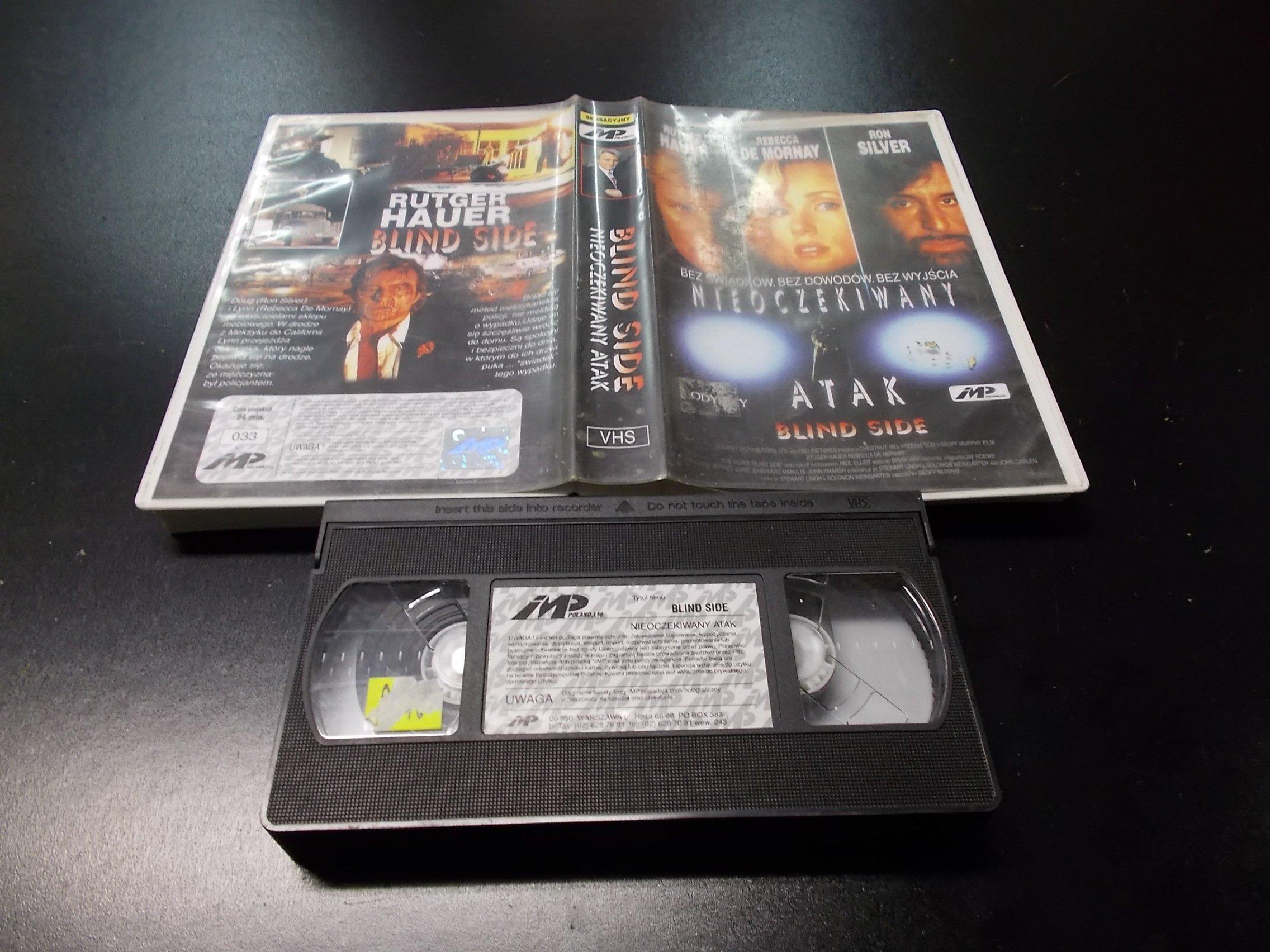 NIEOCZEKIWANY ATAK -  kaseta VHS - 1182 Opole - AlleOpole.pl