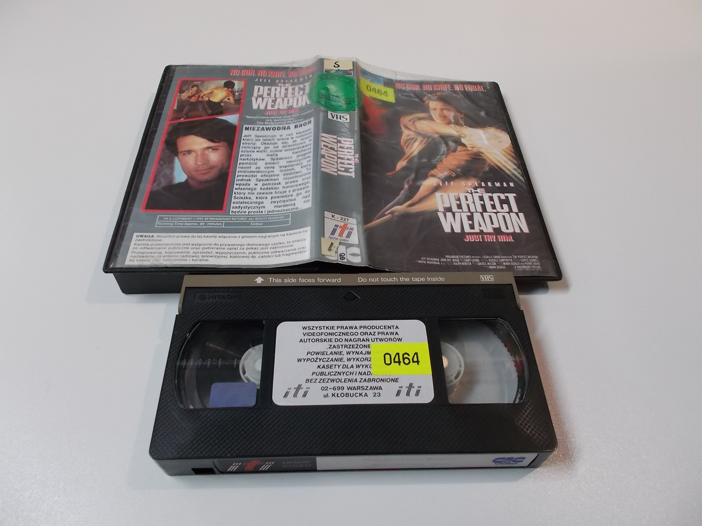 NIEZAWODNA BROŃ - Kaseta Video VHS - Opole 1542