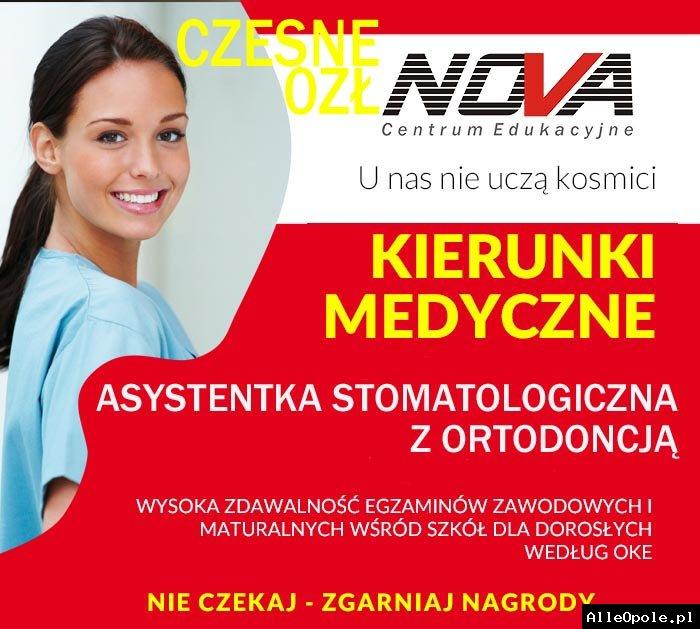 NOWOŚĆ - Asystentka stomatologiczna z ORTODONCJĄ