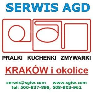 Naprawa pralek, zmywarek Kraków 508-803-962