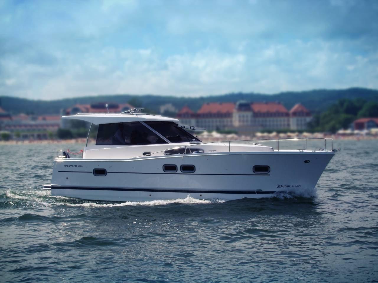 Nautika 1000 – jacht spacerowy (houseboat)
