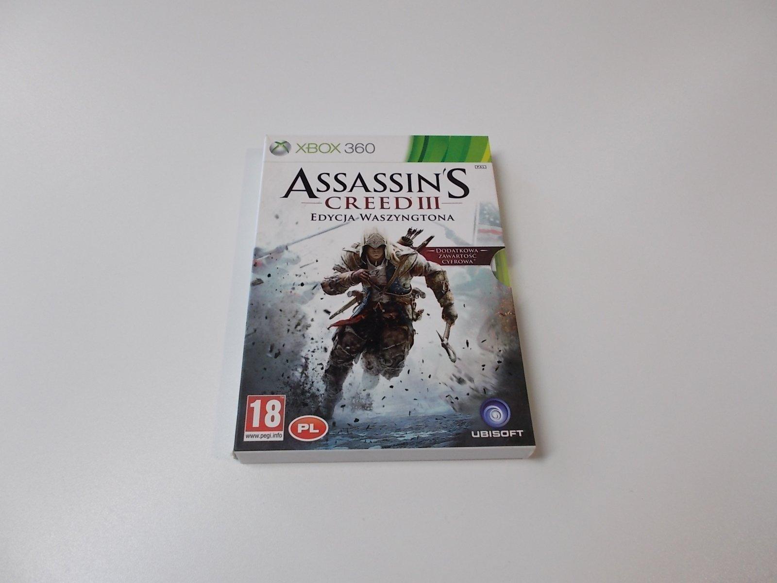 Assassin's Creed 3 Edycja Waszyngtona - GRA Xbox 360 - Opole 0436