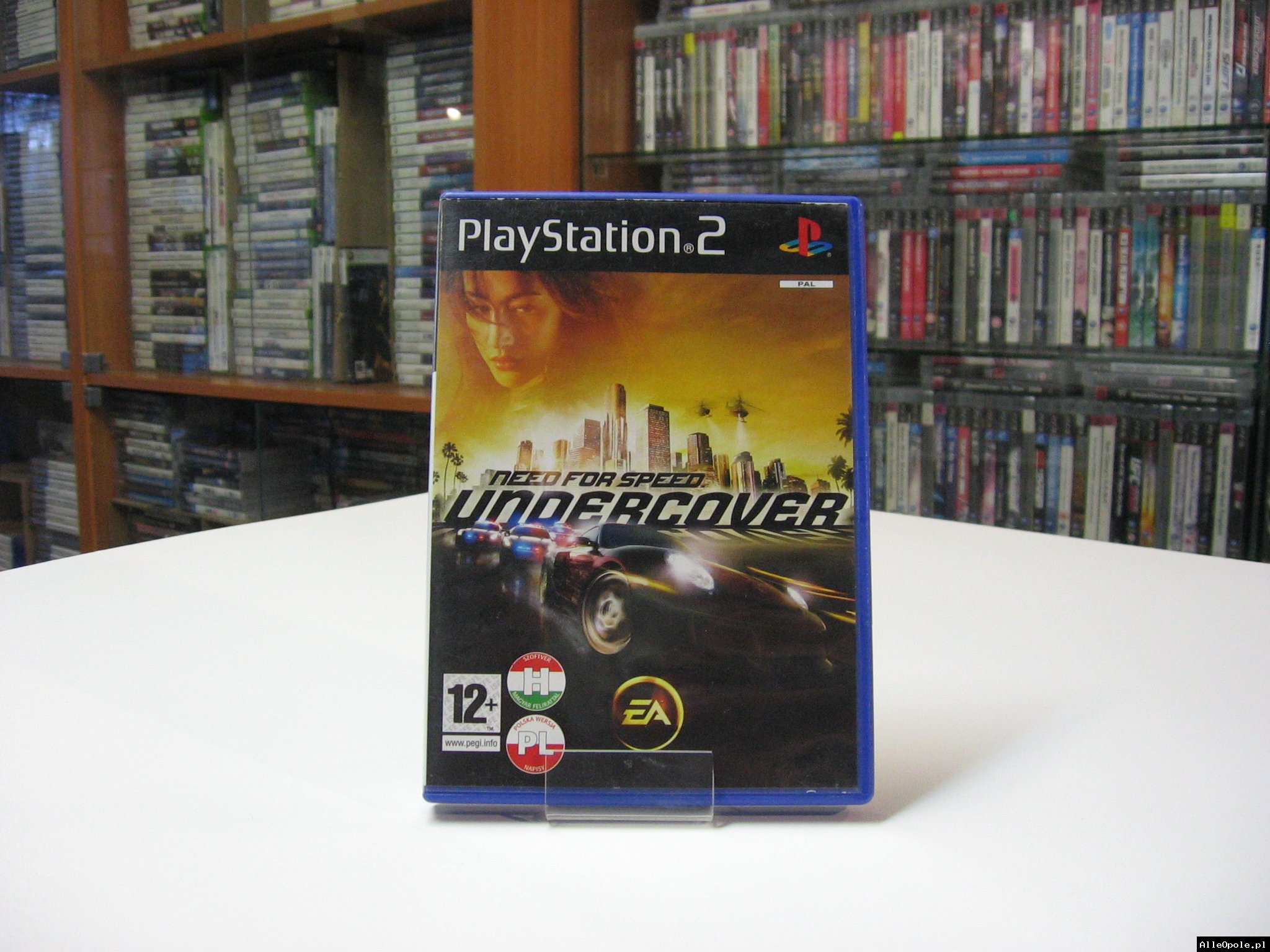 Need for Speed Undercover PL - GRA Ps2 - Opole 0589